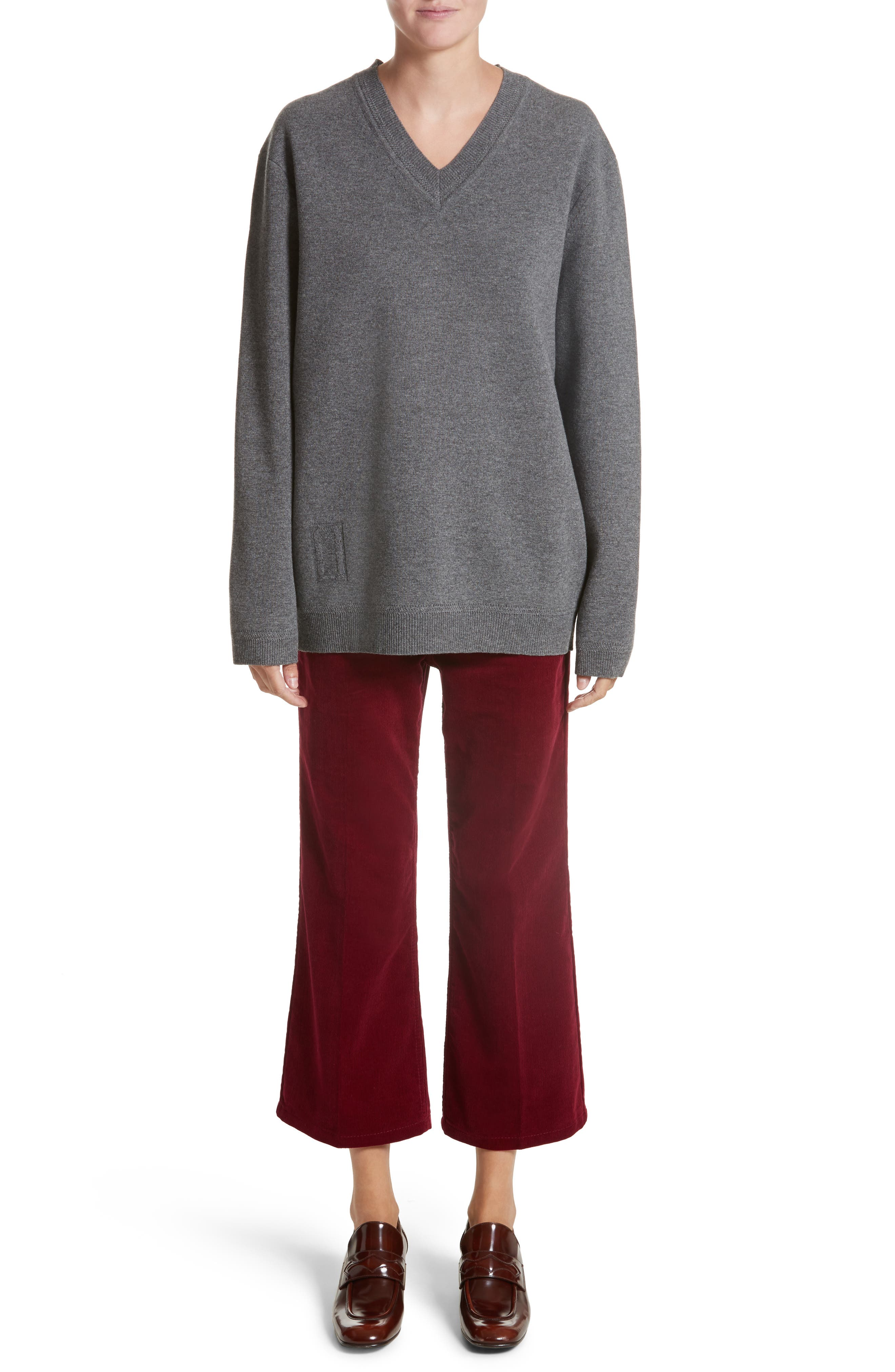 Wool & Cashmere Sweater,                             Alternate thumbnail 7, color,                             032