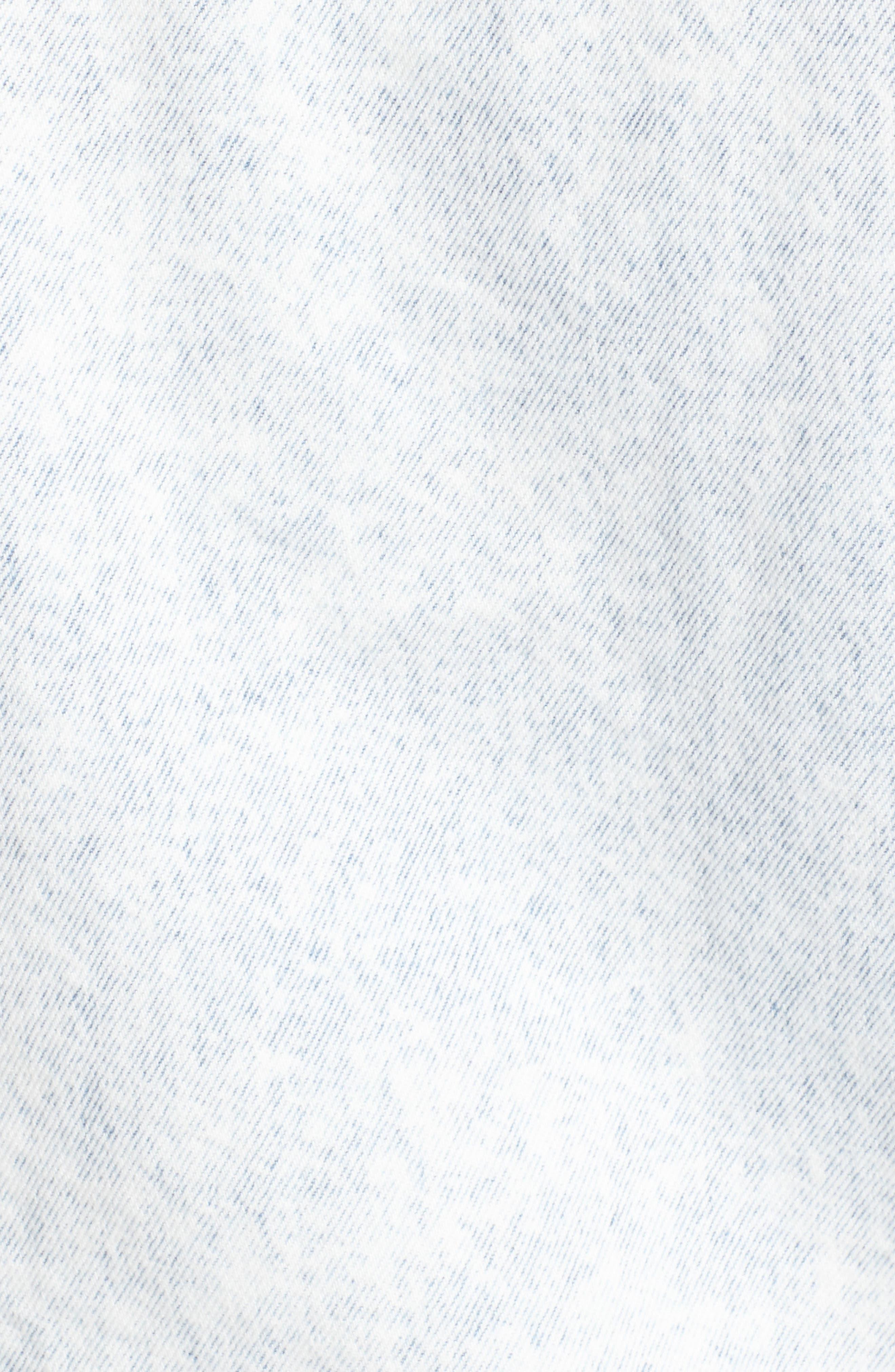 Ex-Boyfriend Denim Trucker Jacket,                             Alternate thumbnail 6, color,                             420