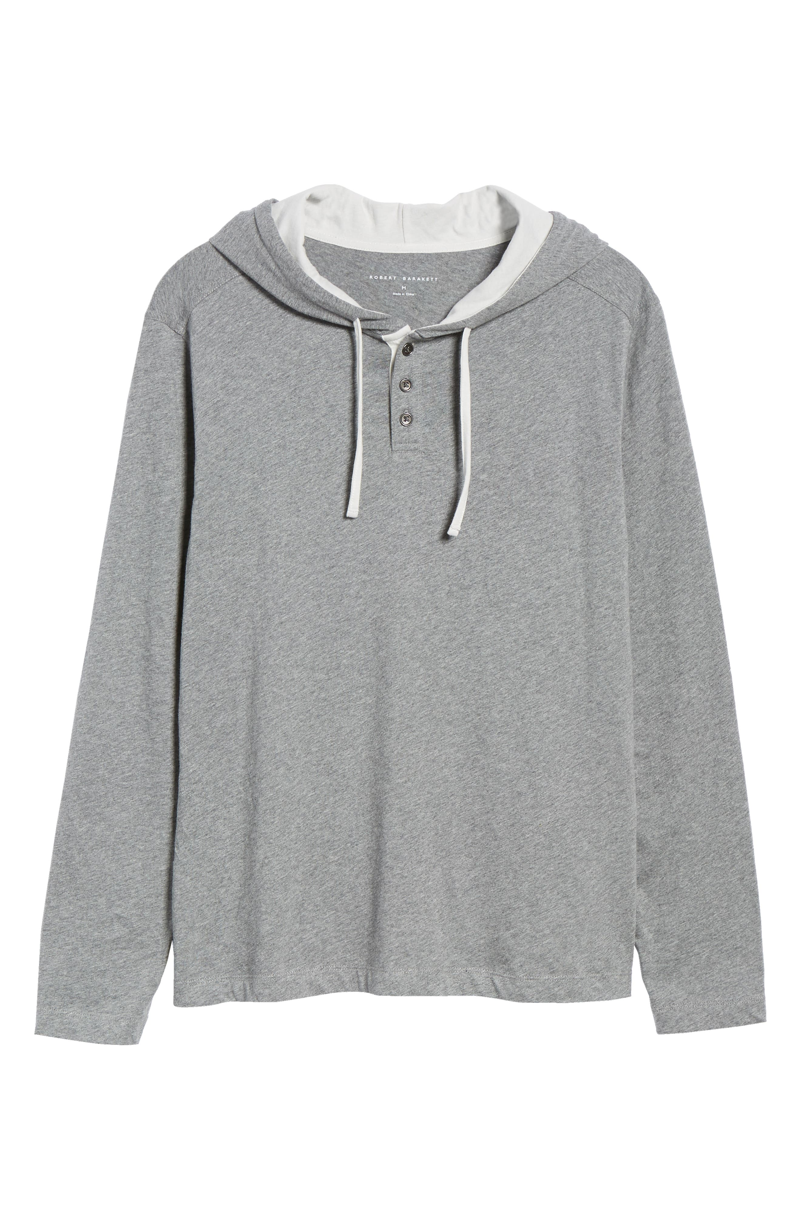Carl Pullover Hoodie,                             Alternate thumbnail 6, color,                             MID GREY