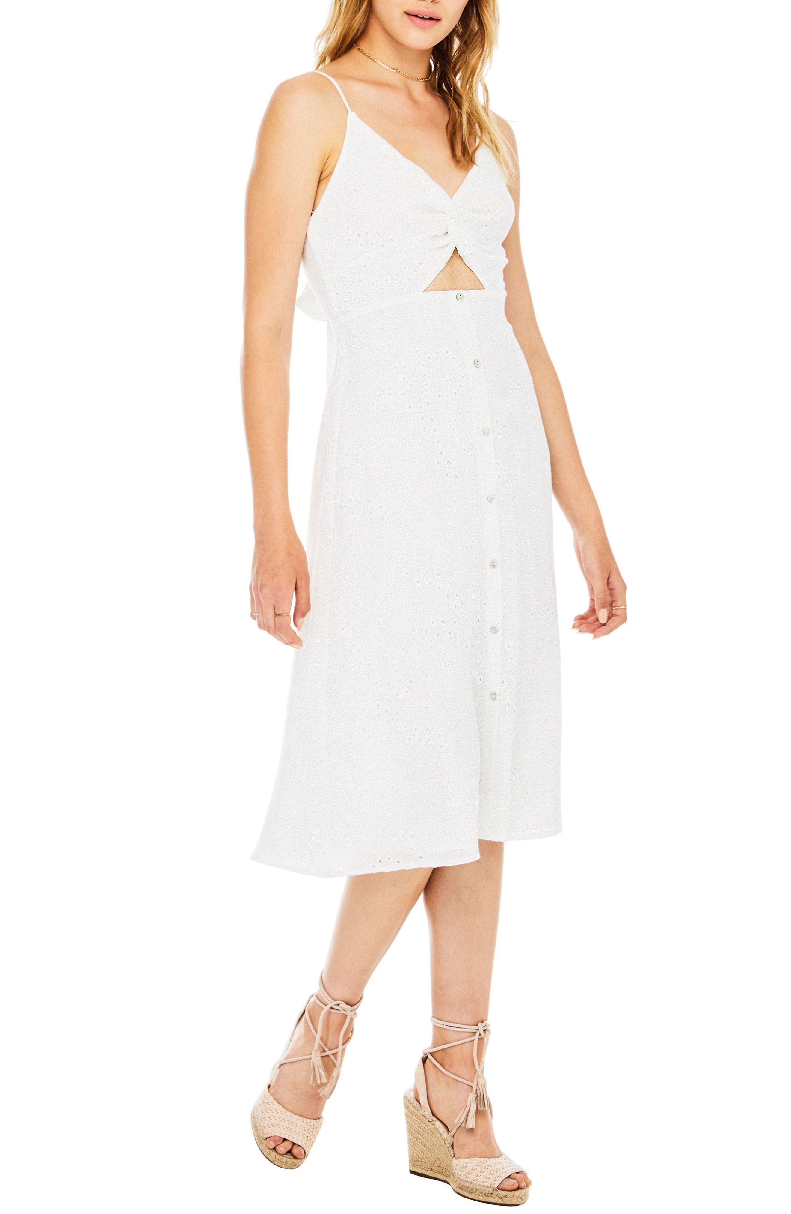 ASTR THE LABEL,                             Ellowyn Dress,                             Alternate thumbnail 3, color,                             100