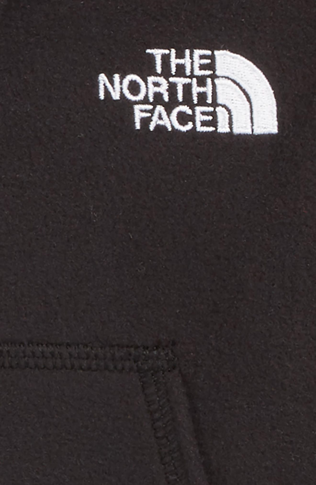 Glacier Full Zip Hoodie,                             Alternate thumbnail 2, color,                             TNF BLACK