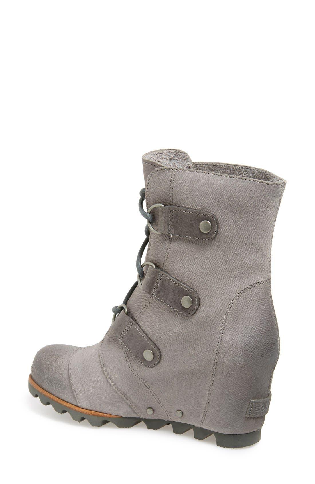 'Joan of Arctic' Waterproof Wedge Boot,                             Alternate thumbnail 13, color,