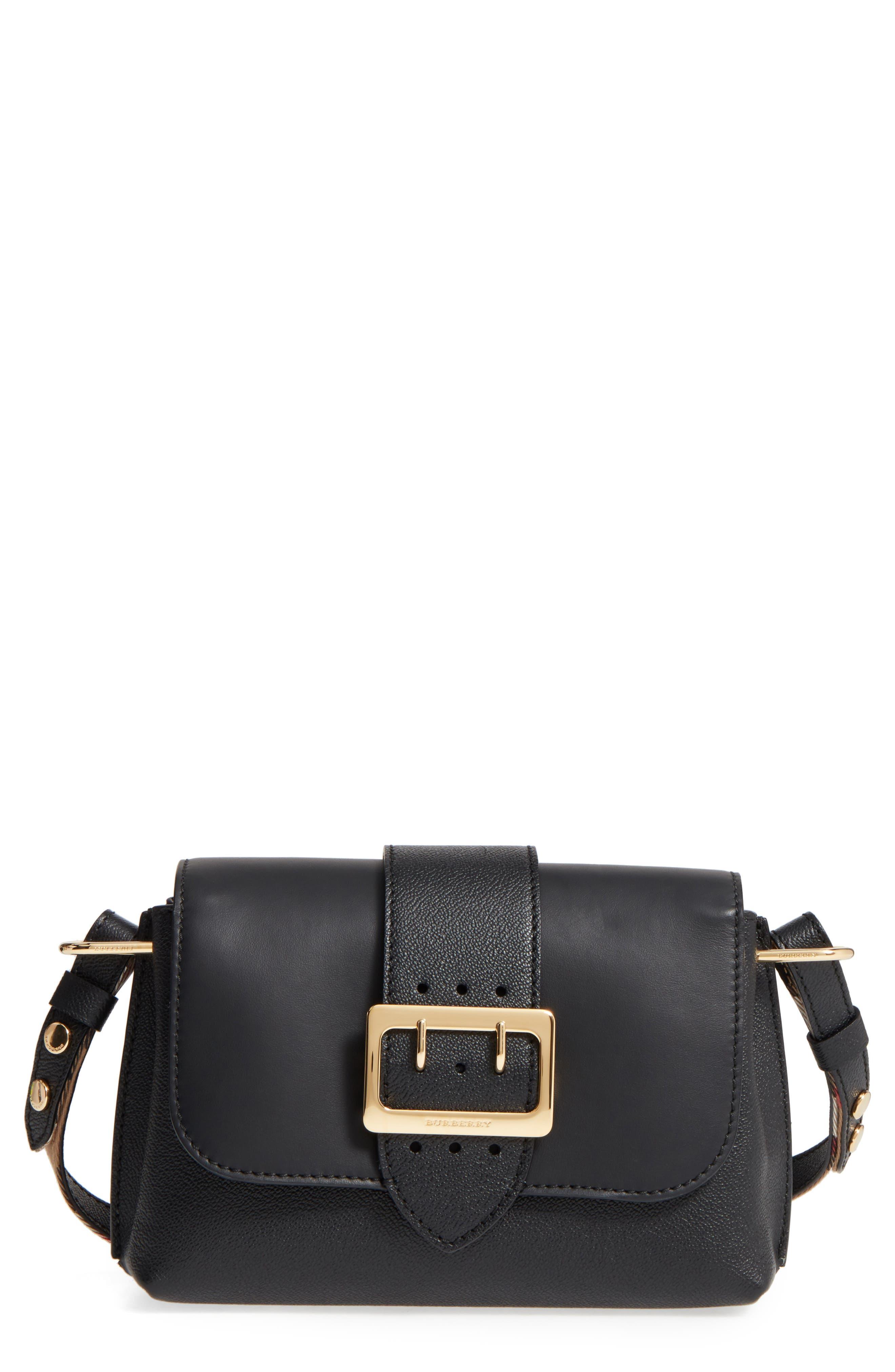 Small Medley Leather Crossbody Bag,                             Main thumbnail 1, color,                             001