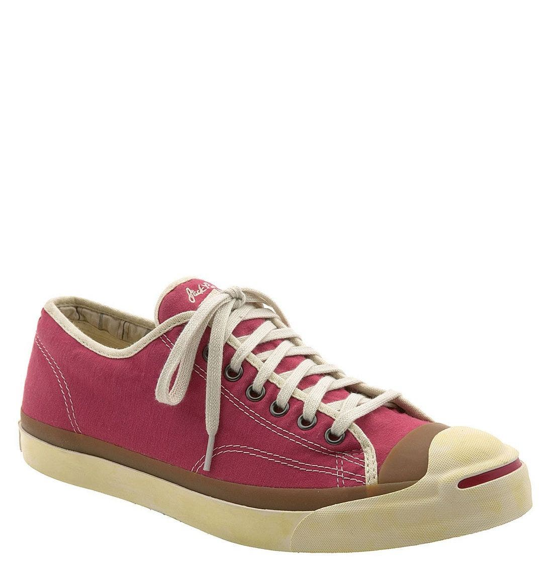 'Jack Purcell' Sneaker,                             Main thumbnail 1, color,                             RED