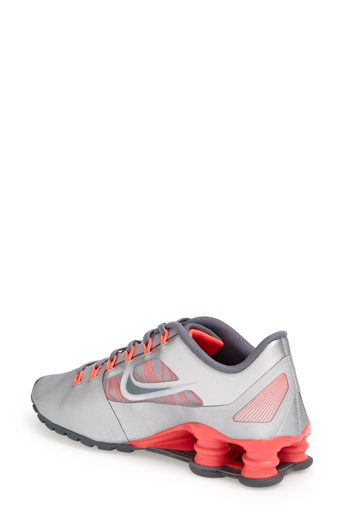 'Shox Superfly R4' Running Shoe,                             Alternate thumbnail 2, color,                             020