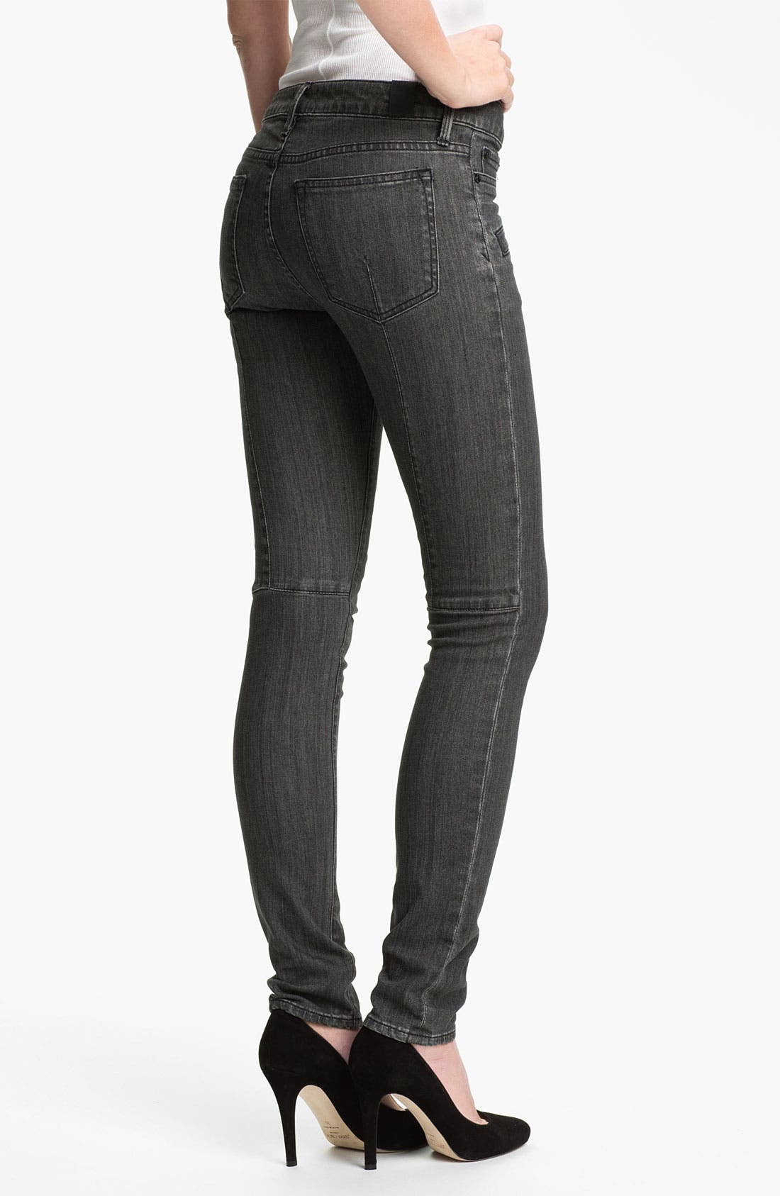 Stretch Skinny Jeans,                             Alternate thumbnail 2, color,