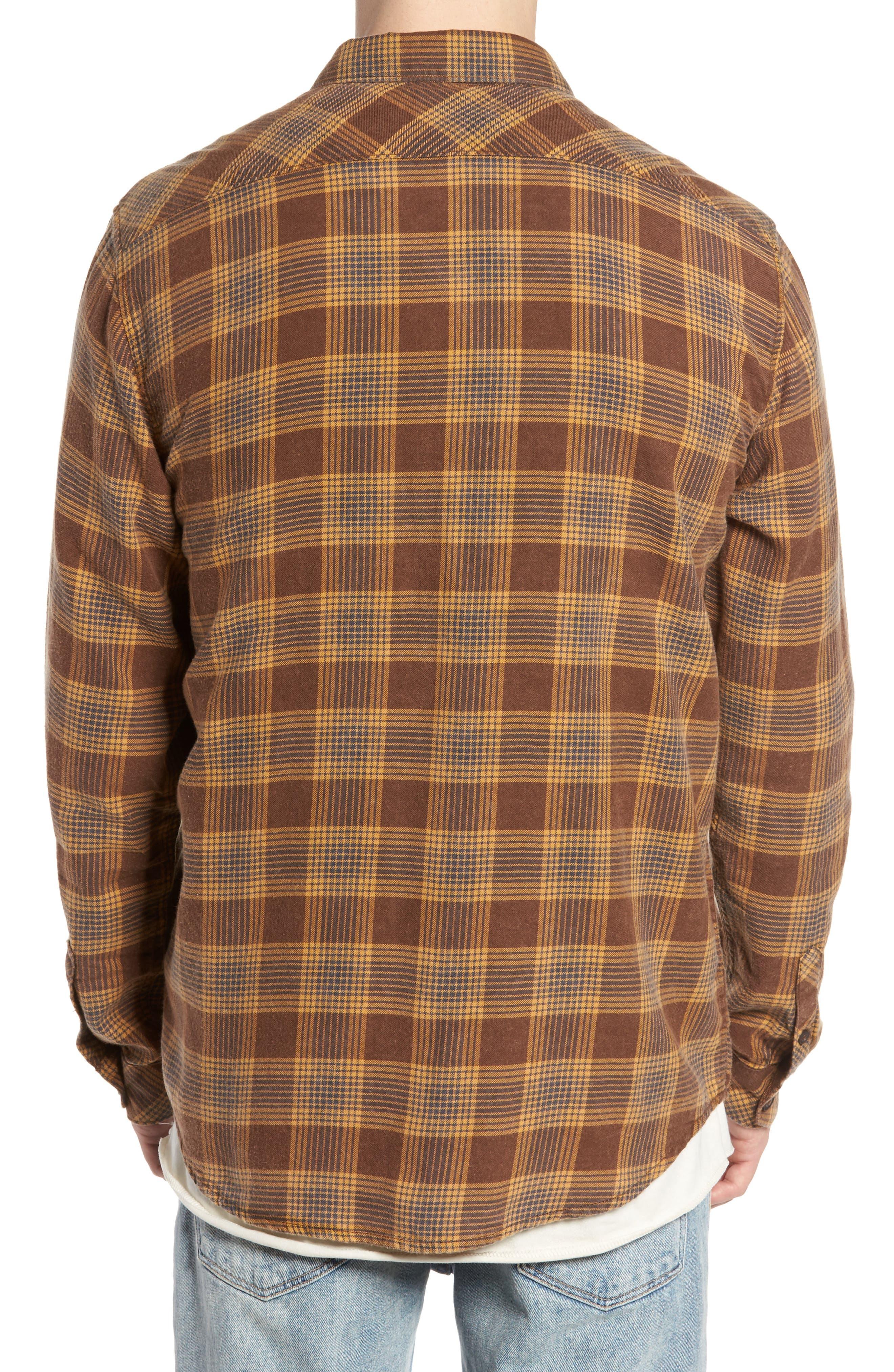 Freemont Flannel Shirt,                             Alternate thumbnail 2, color,                             205