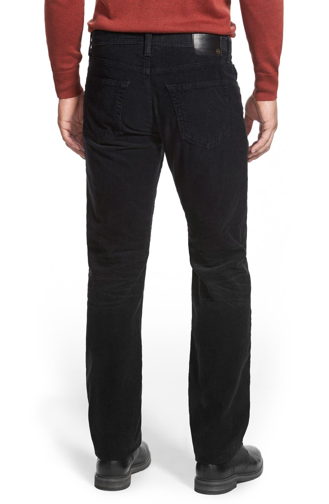'Graduate' Tailored Straight Leg Corduroy Pants,                             Alternate thumbnail 62, color,
