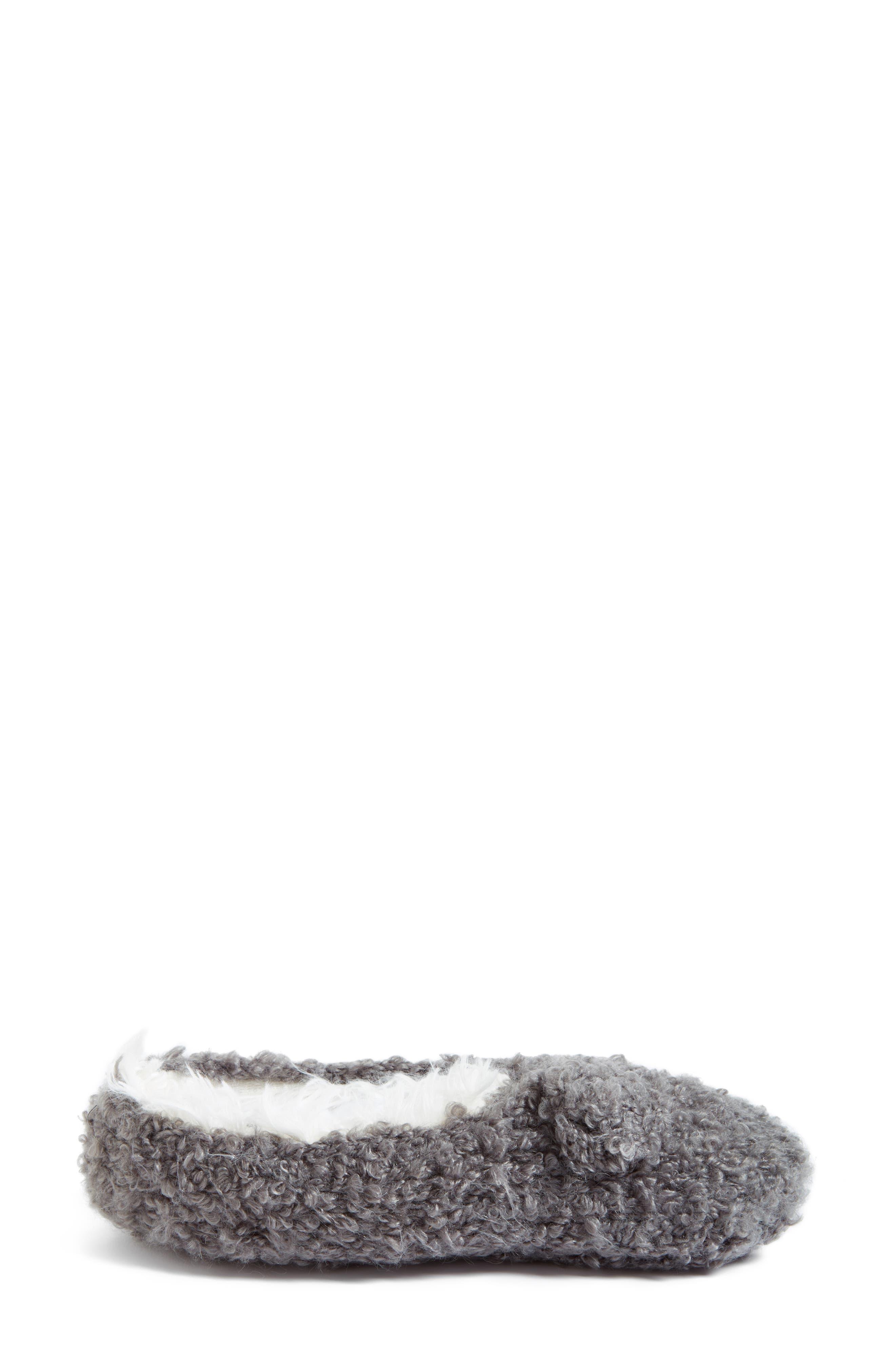Teddy Bear Bootie Slipper Socks,                             Alternate thumbnail 4, color,                             020