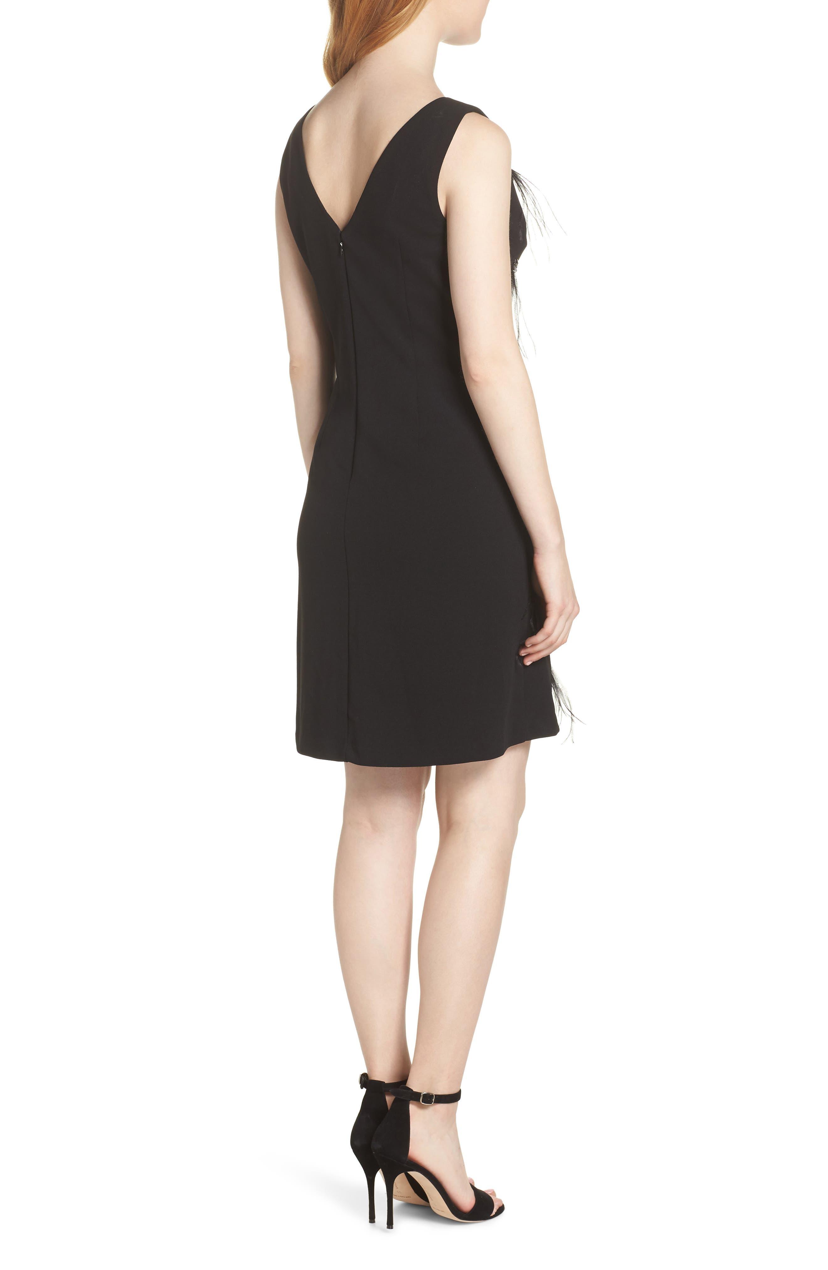 HARPER ROSE,                             Embellished Sheath Dress,                             Alternate thumbnail 2, color,                             BLACK