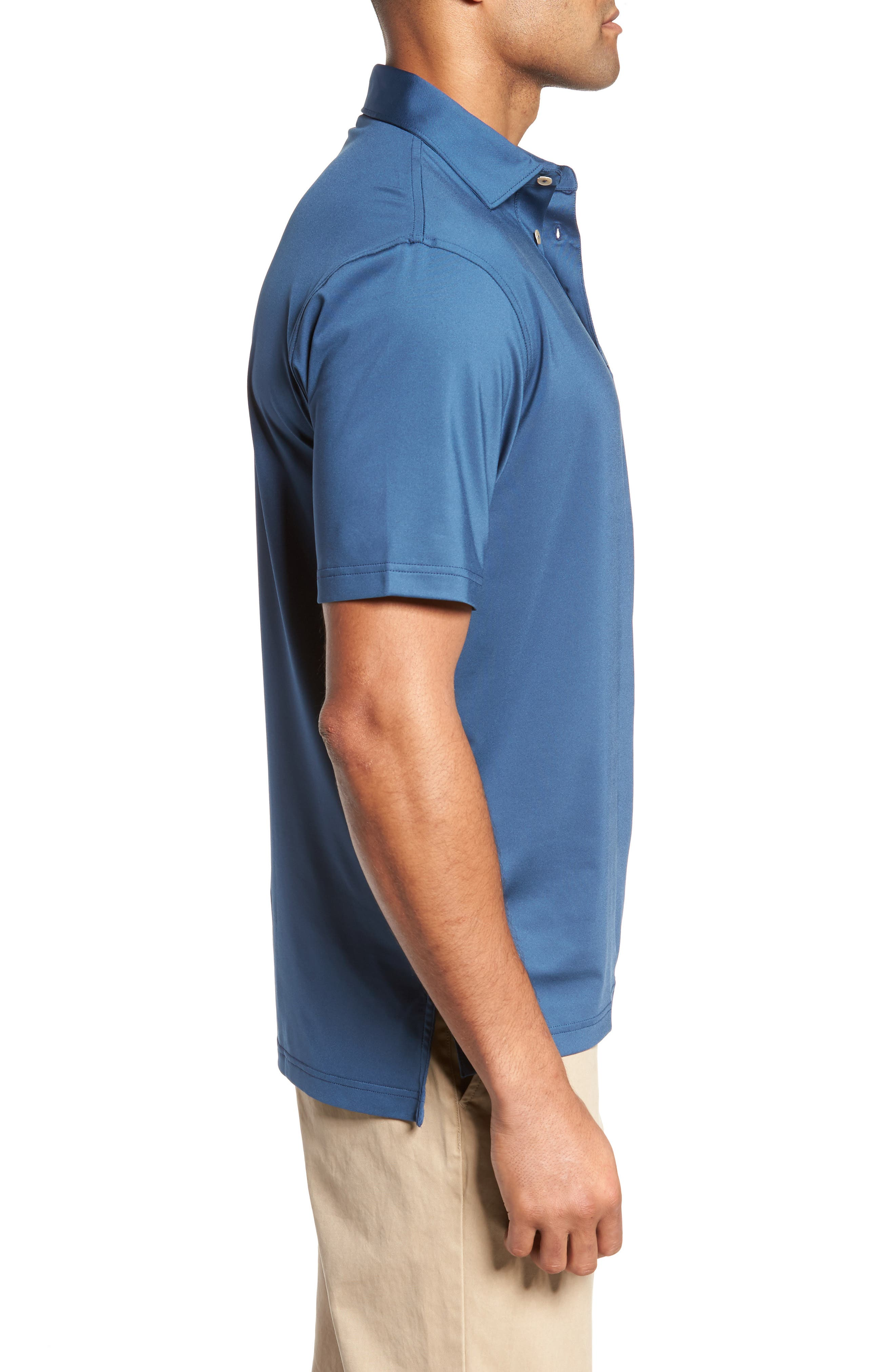 PETER MILLAR,                             Stretch Jersey Polo,                             Alternate thumbnail 3, color,                             402