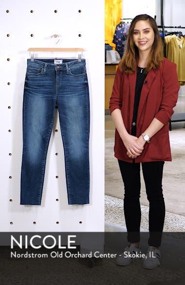 Transcend Vintage - Skyline Crop Skinny Jeans, sales video thumbnail