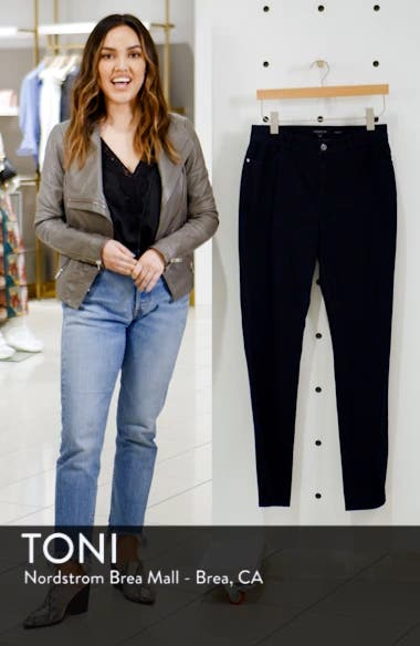 'Primo Denim' Curvy Fit Slim Leg Jeans, sales video thumbnail