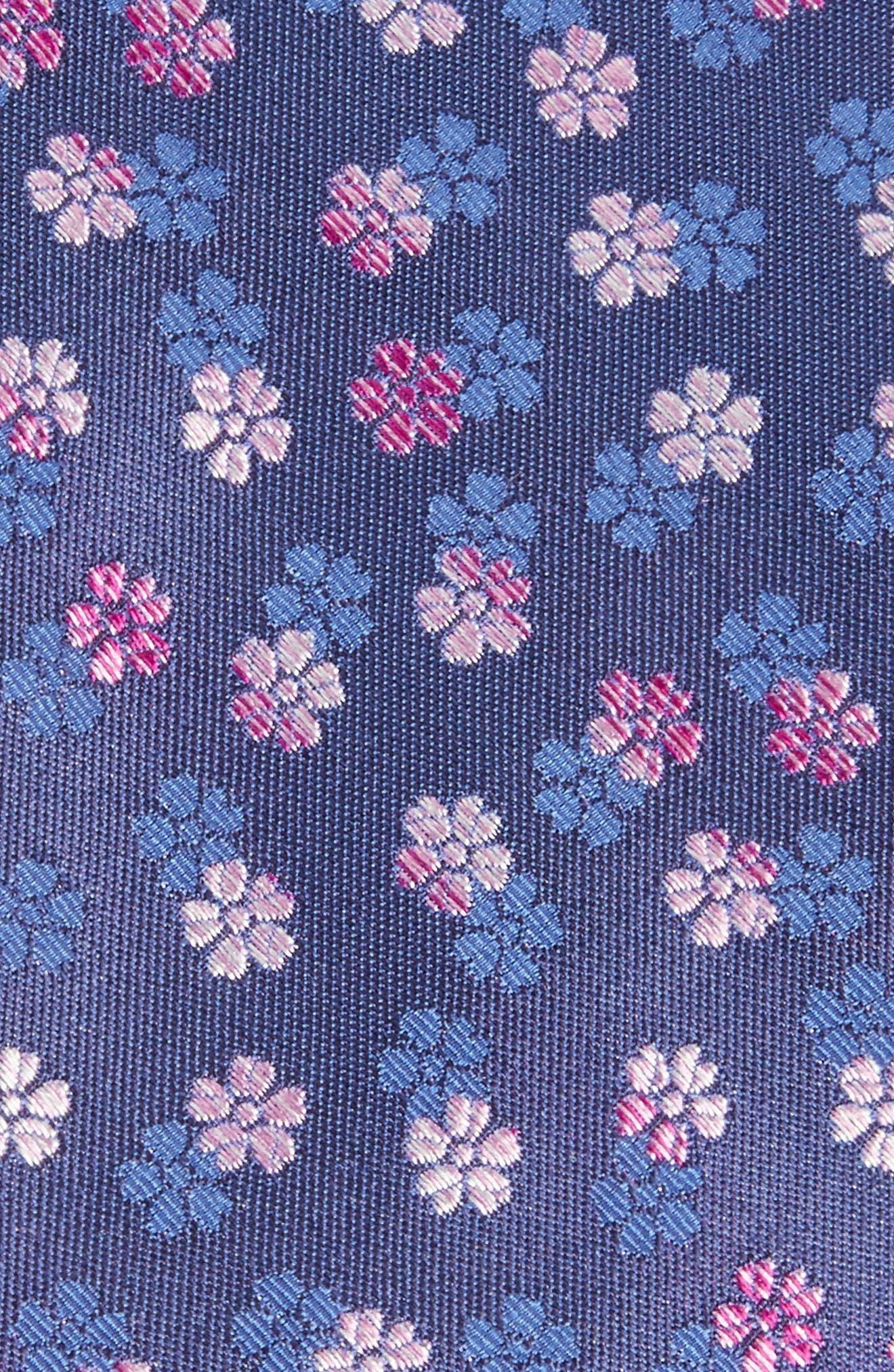 Ombré Floral Silk Tie,                             Alternate thumbnail 2, color,                             400