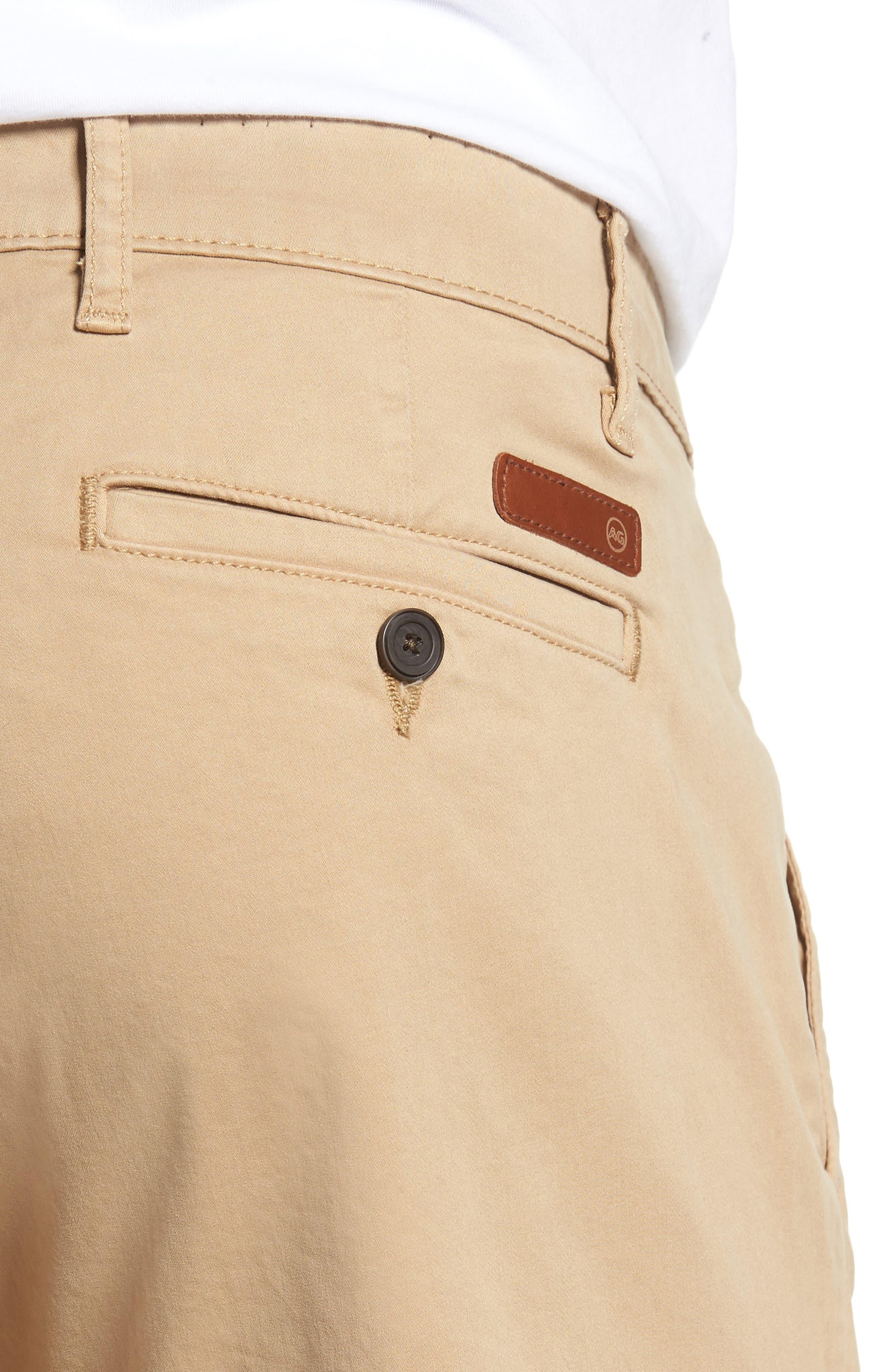 Wanderer Modern Slim Fit Shorts,                             Alternate thumbnail 4, color,                             244