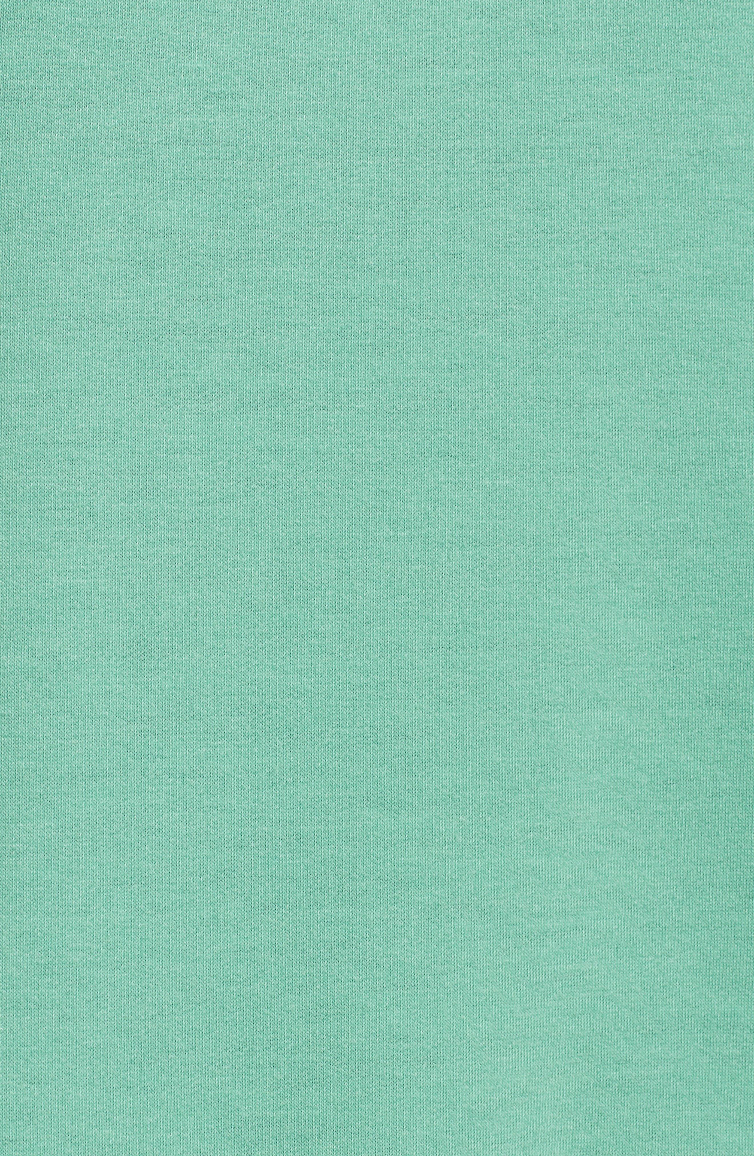 Ruffle Sleeve Sweatshirt,                             Alternate thumbnail 18, color,