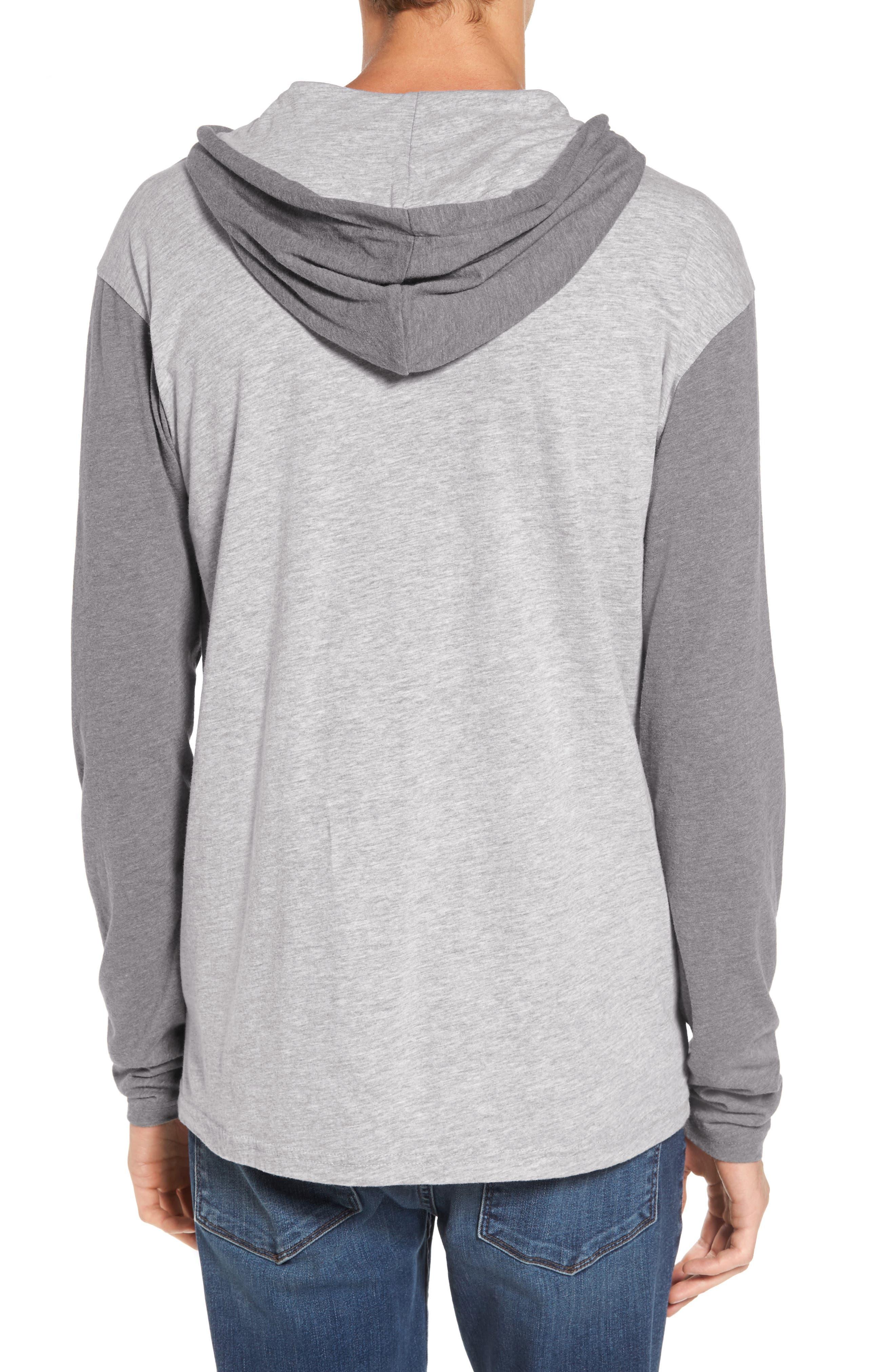 Pick Up Hooded Henley Sweatshirt,                             Alternate thumbnail 2, color,                             021