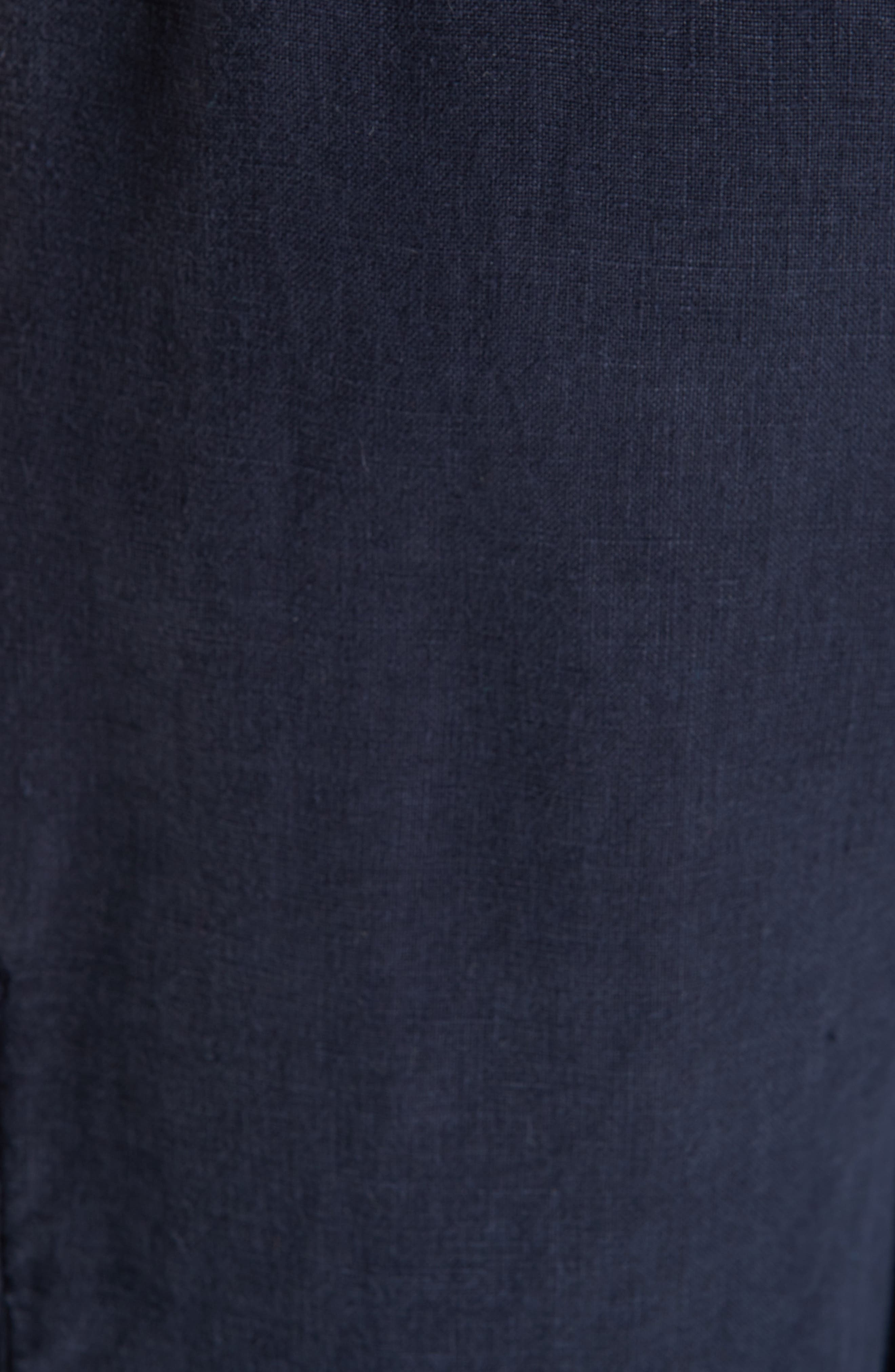 Vilbrequin Linen Cargo Shorts,                             Alternate thumbnail 5, color,                             BLUE