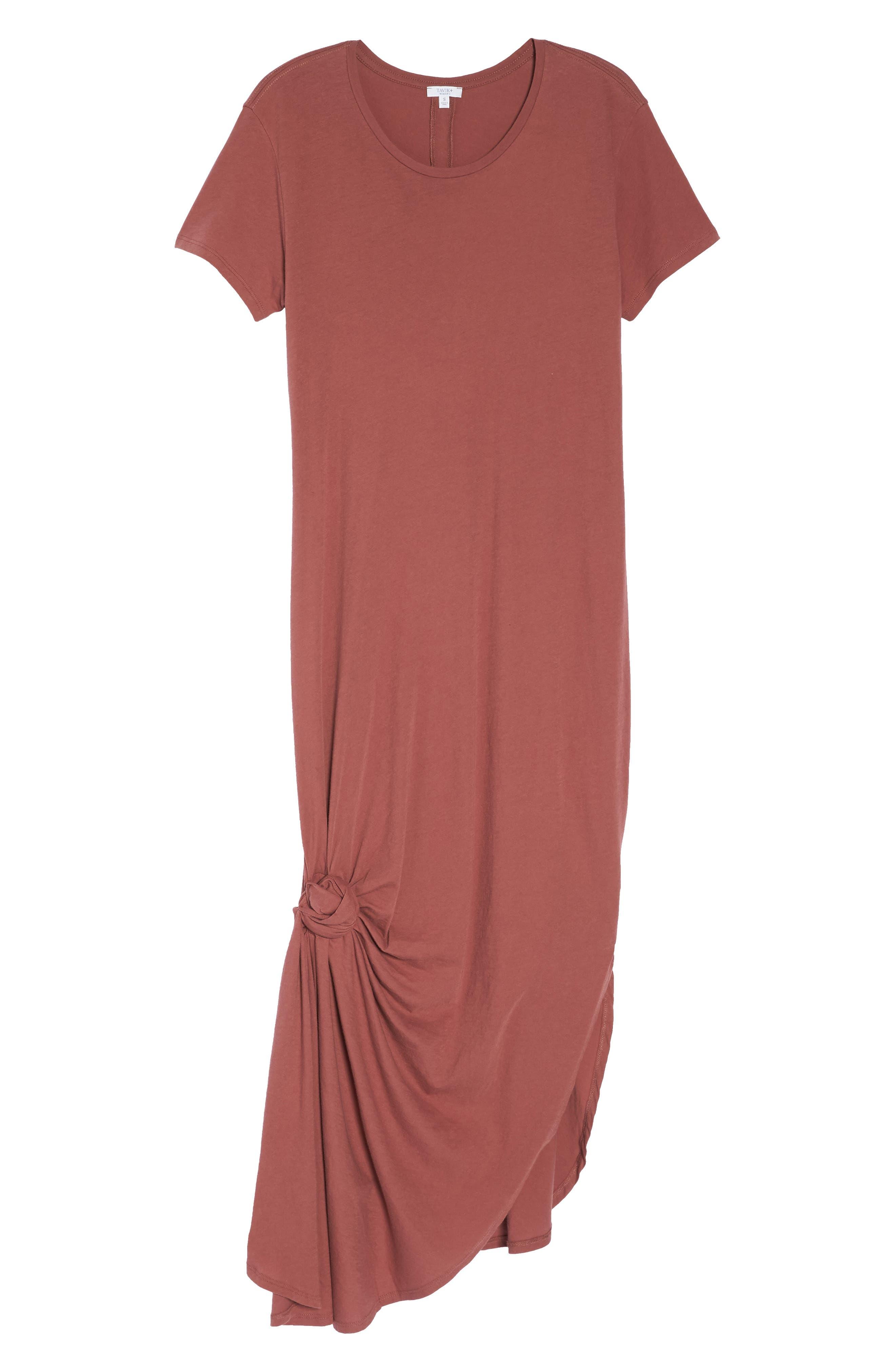 Jones Cover-Up Dress,                             Alternate thumbnail 6, color,                             VINTAGE BERRY