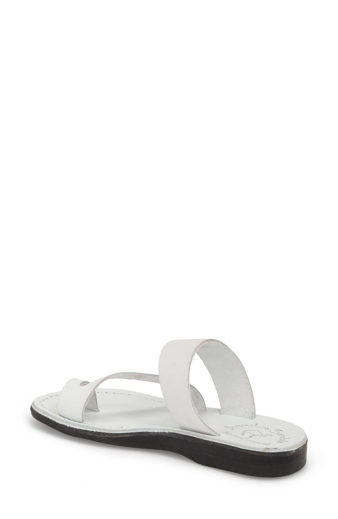 'Zohar' Leather Sandal,                             Alternate thumbnail 27, color,
