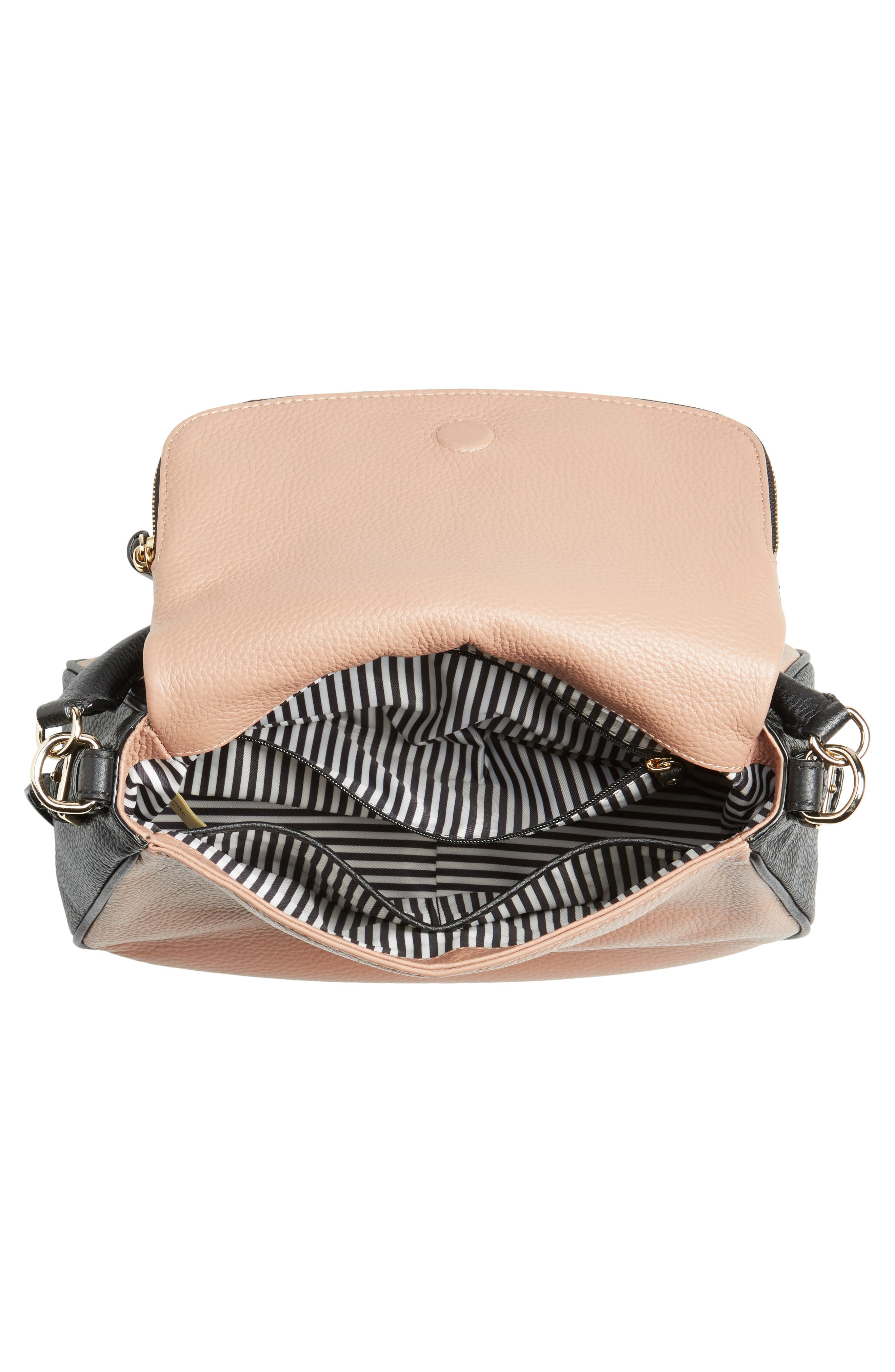 cobble hill - deva leather crossbody bag,                             Alternate thumbnail 24, color,