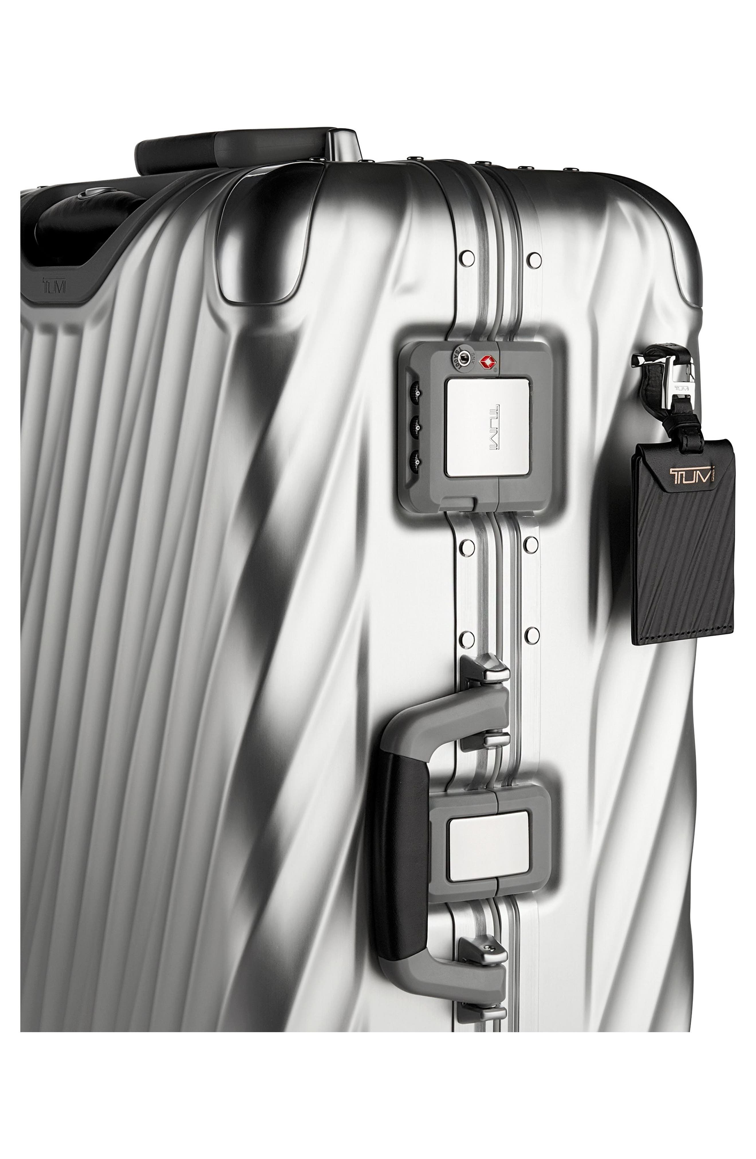 TUMI,                             19 Degree 31-Inch Extended Trip Wheeled Aluminum Packing Case,                             Alternate thumbnail 3, color,                             SILVER