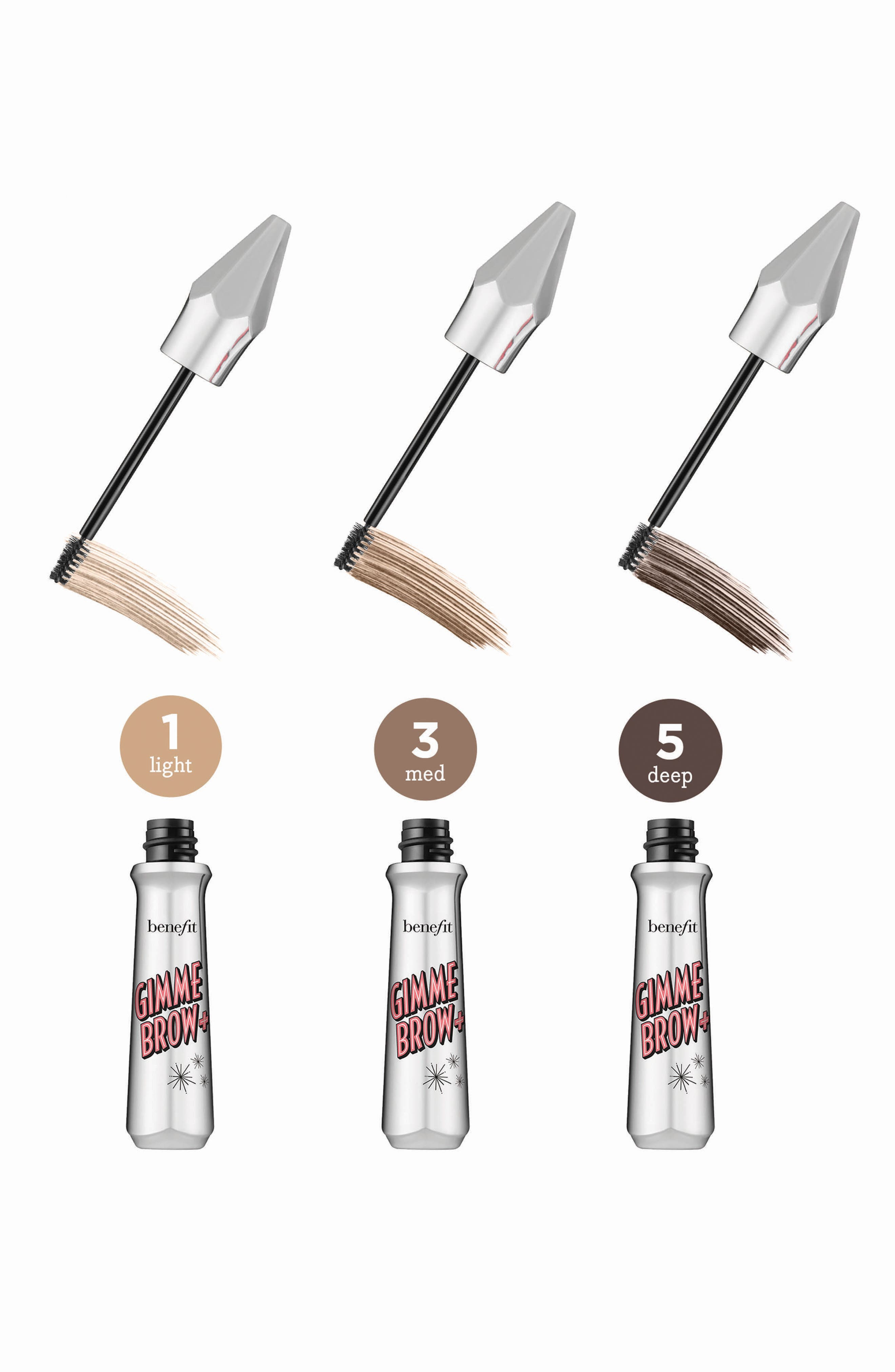 Benefit Gimme Brow+ Volumizing Eyebrow Gel,                             Alternate thumbnail 12, color,                             01 LIGHT/COOL LIGHT BLONDE