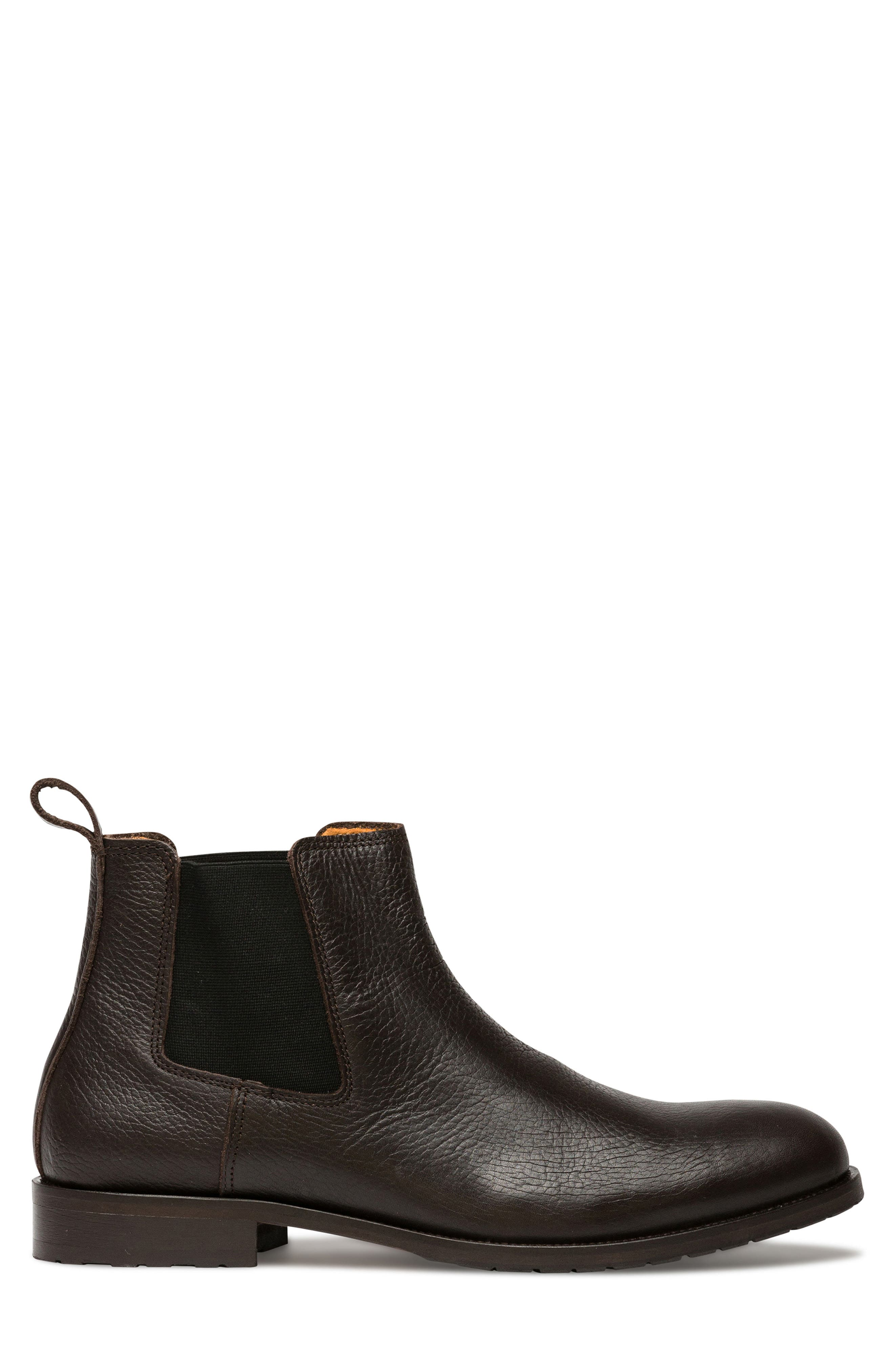 Westholme Chelsea Boot,                             Alternate thumbnail 3, color,                             CHOCOLATE LEATHER