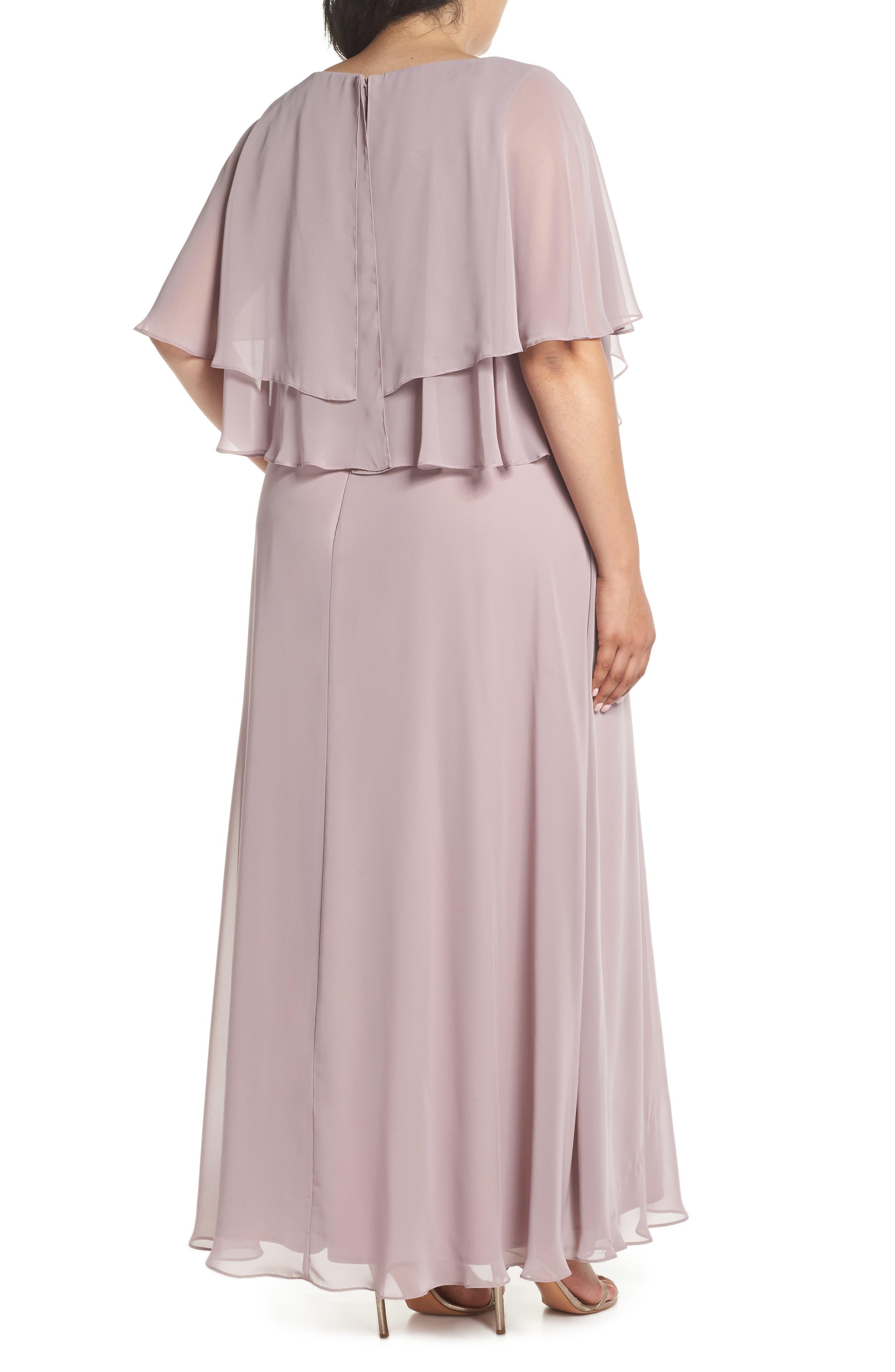 Embellished Waist Flutter Dress,                             Alternate thumbnail 2, color,                             680