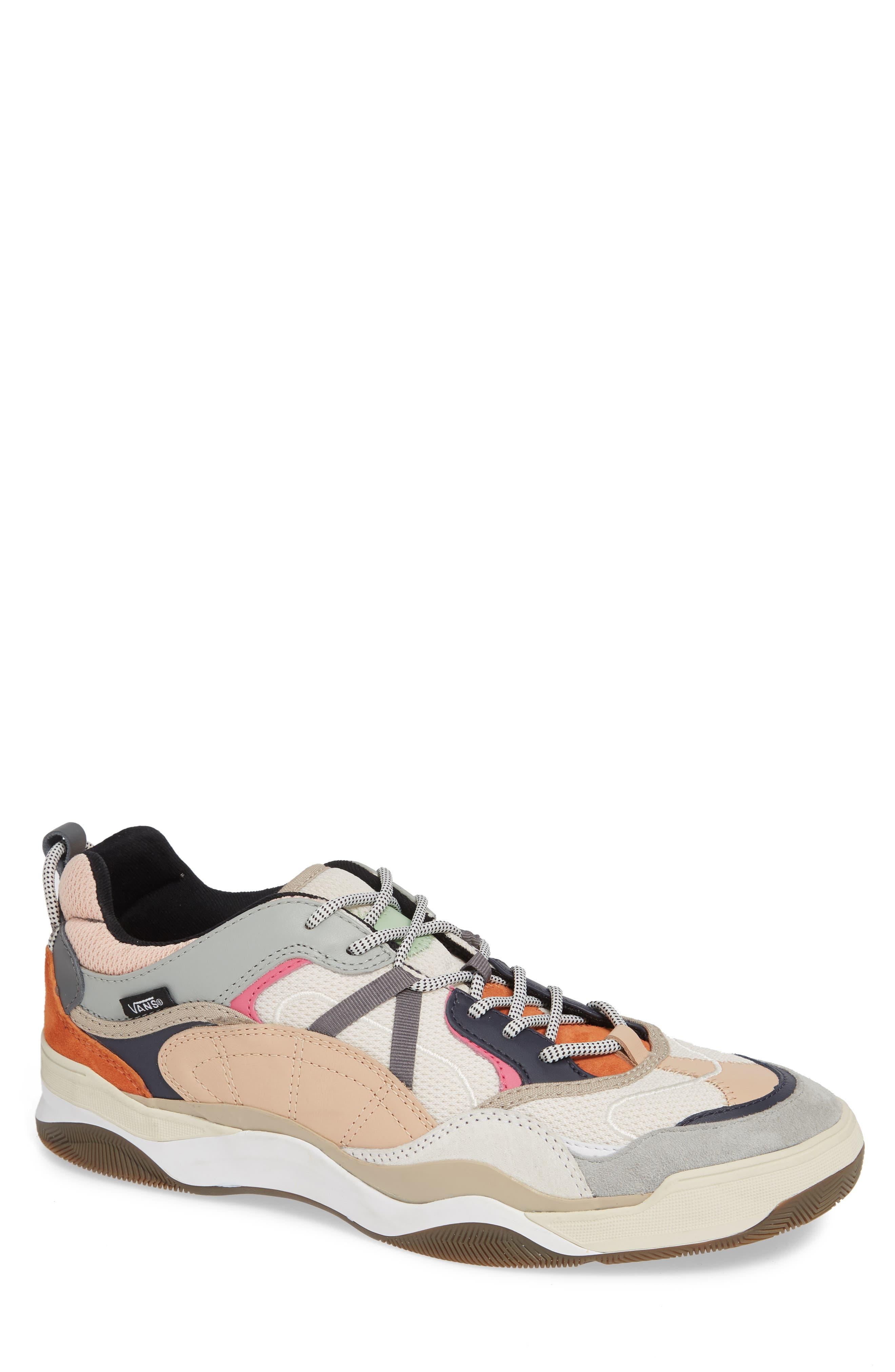 VANS Varix WC Sneaker, Main, color, TURTLEDOVE/ TRUE WHITE LEATHER
