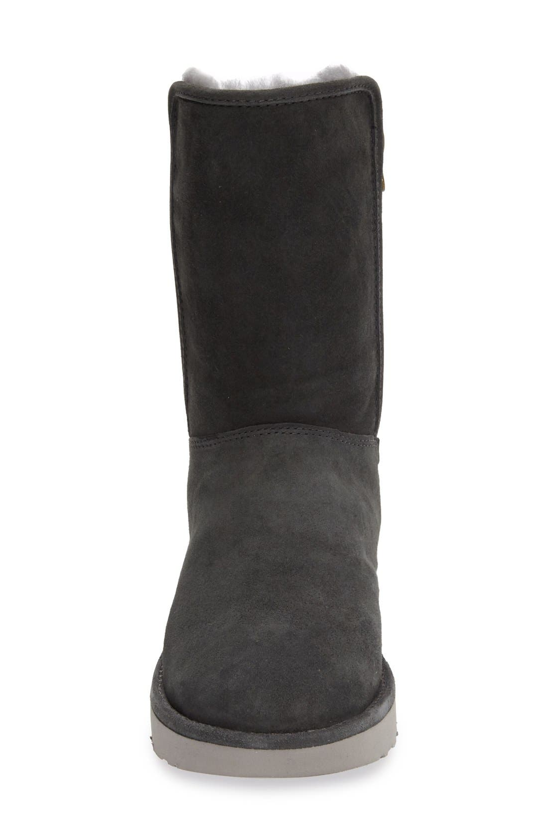 Abree II Short Boot,                             Alternate thumbnail 6, color,                             GRIGIO SUEDE
