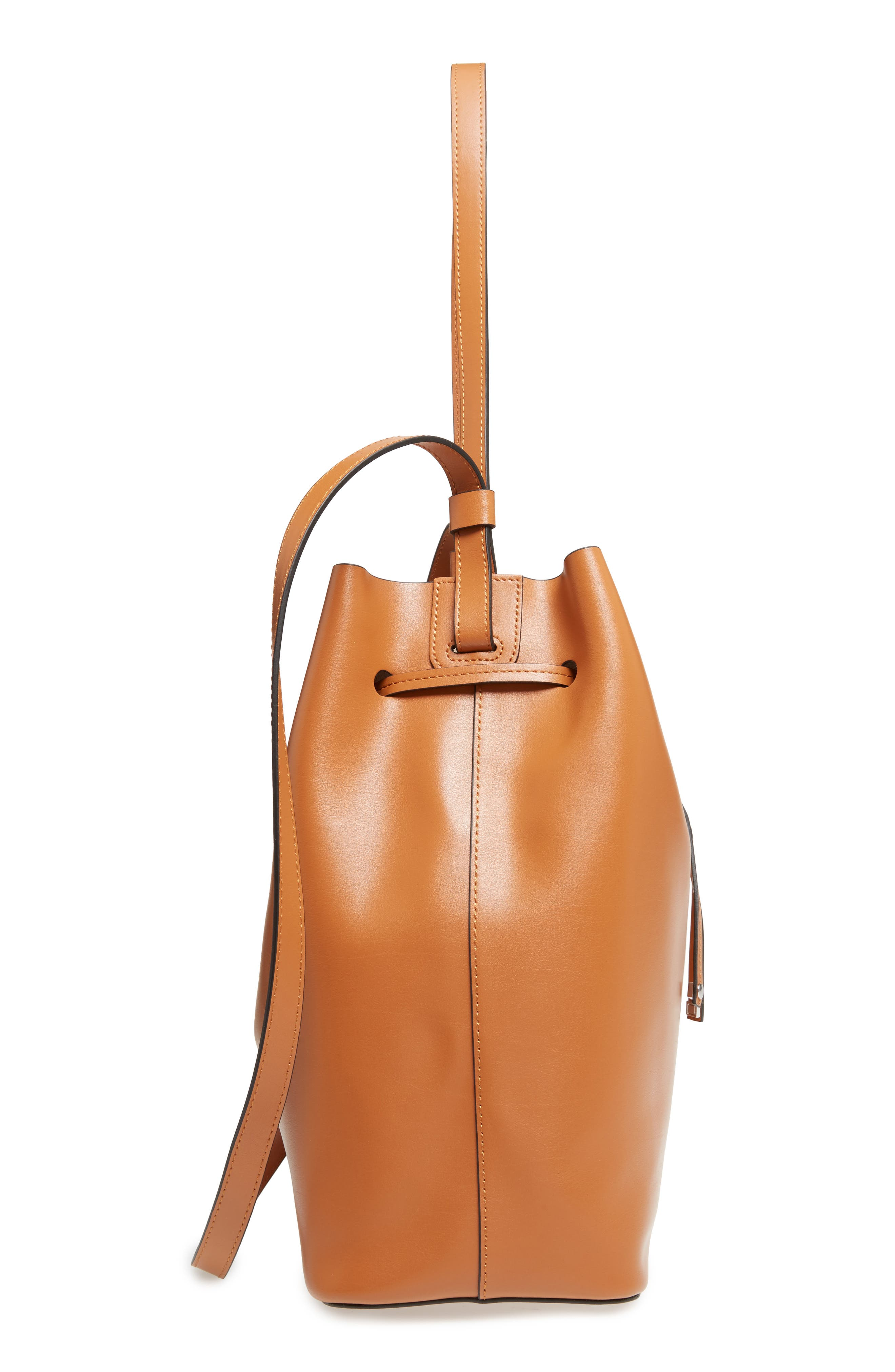 Silicon Valley Large Halina Leather Bucket Bag,                             Alternate thumbnail 14, color,