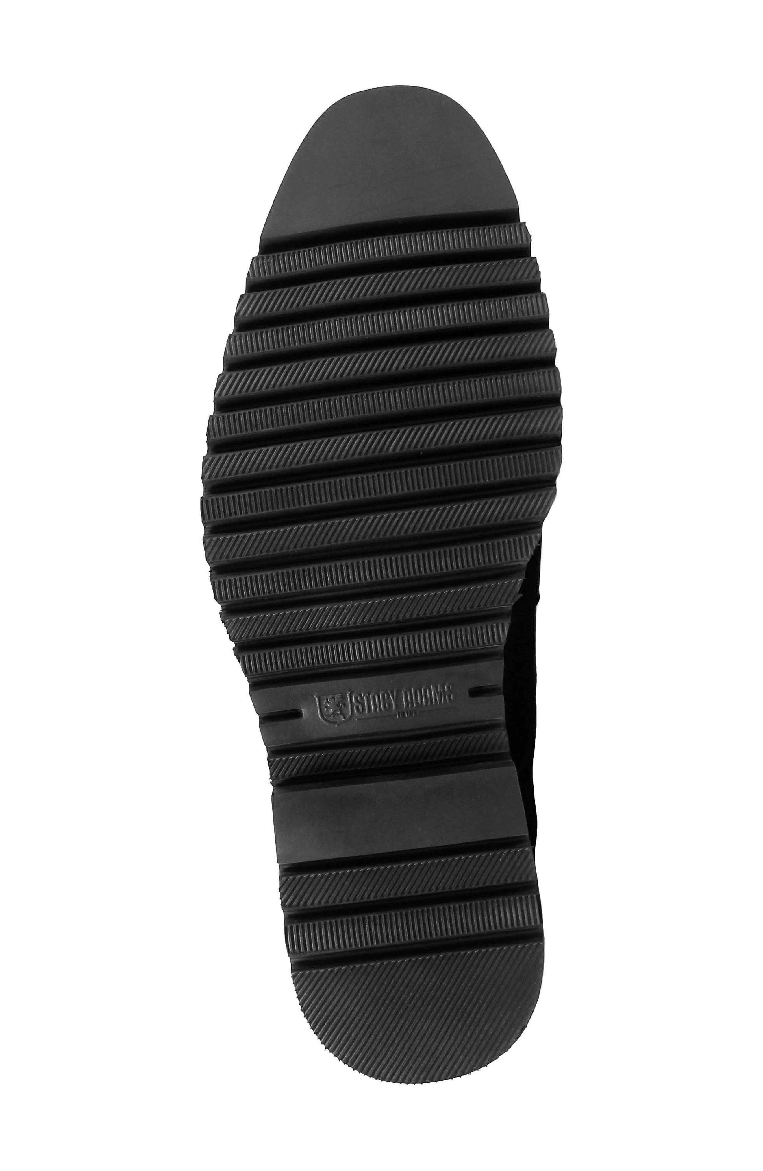 Barclay Plain Toe Derby,                             Alternate thumbnail 6, color,                             BLACK LEATHER