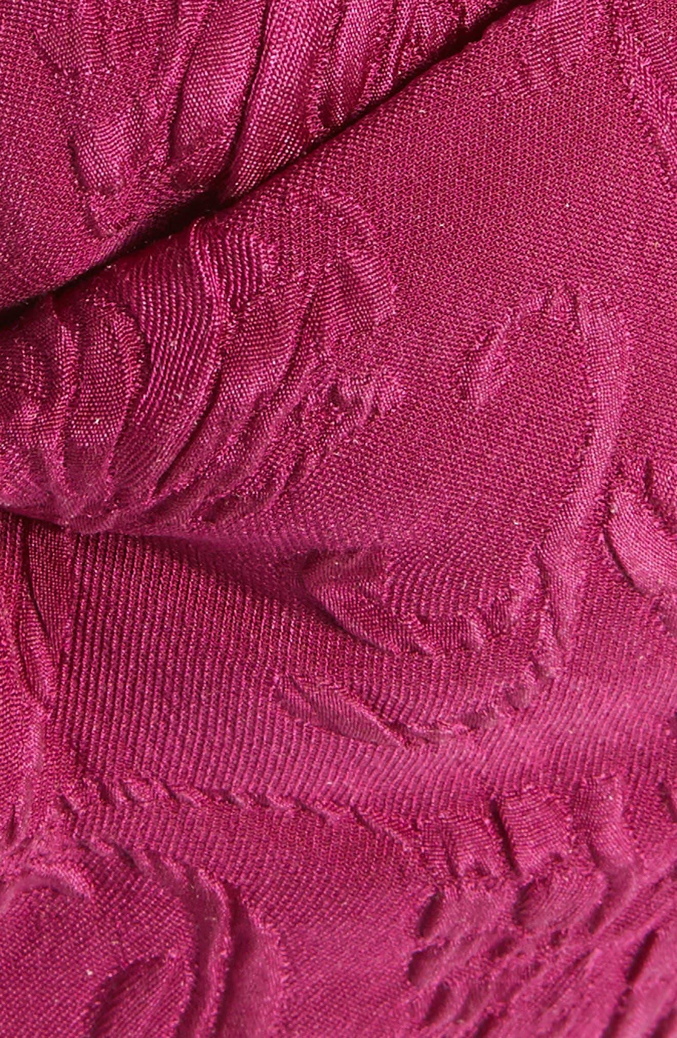 Rilly Brocade Silk Turban,                             Alternate thumbnail 2, color,                             MAUVE