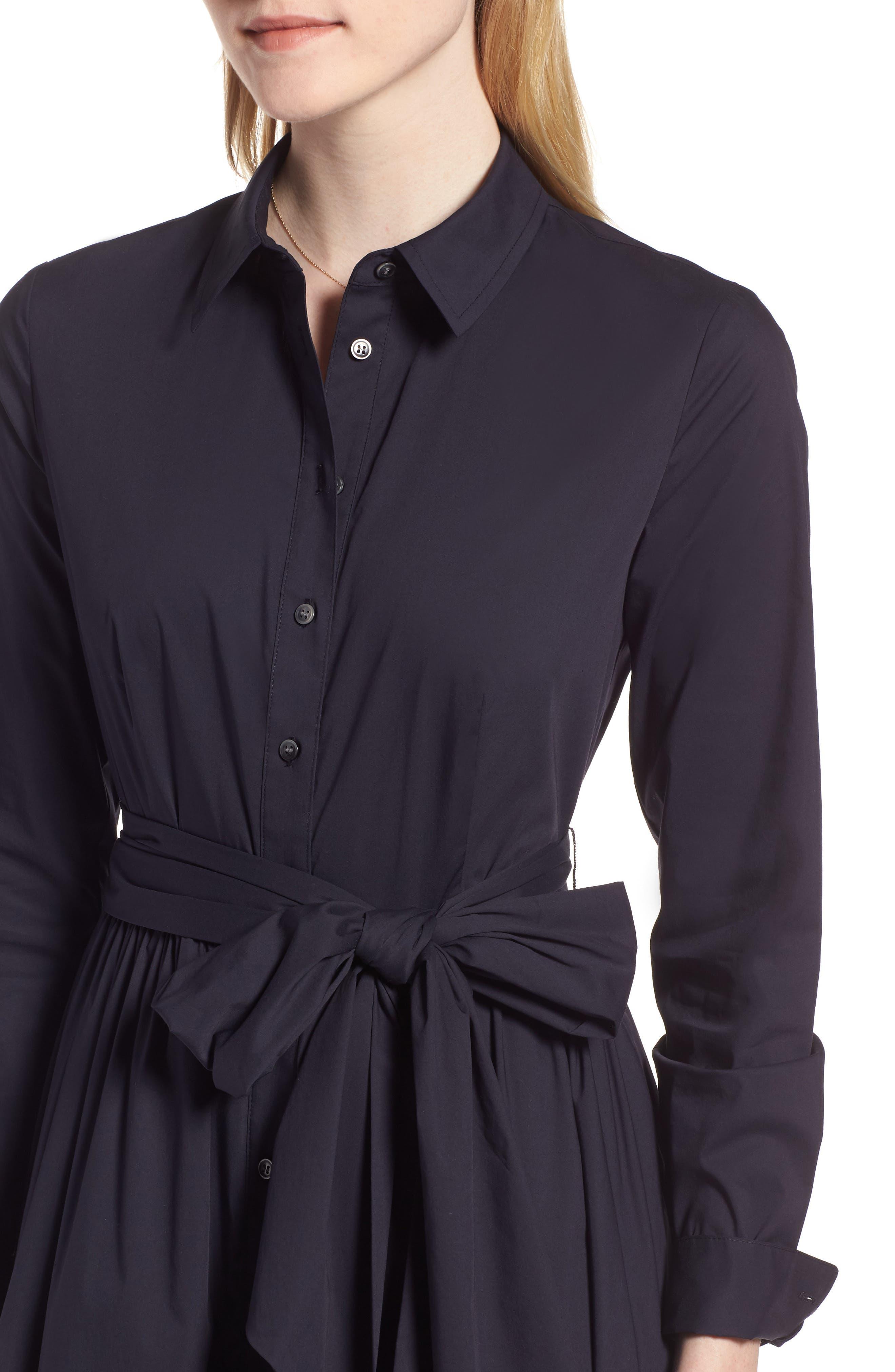 Midi Shirtdress,                             Alternate thumbnail 12, color,