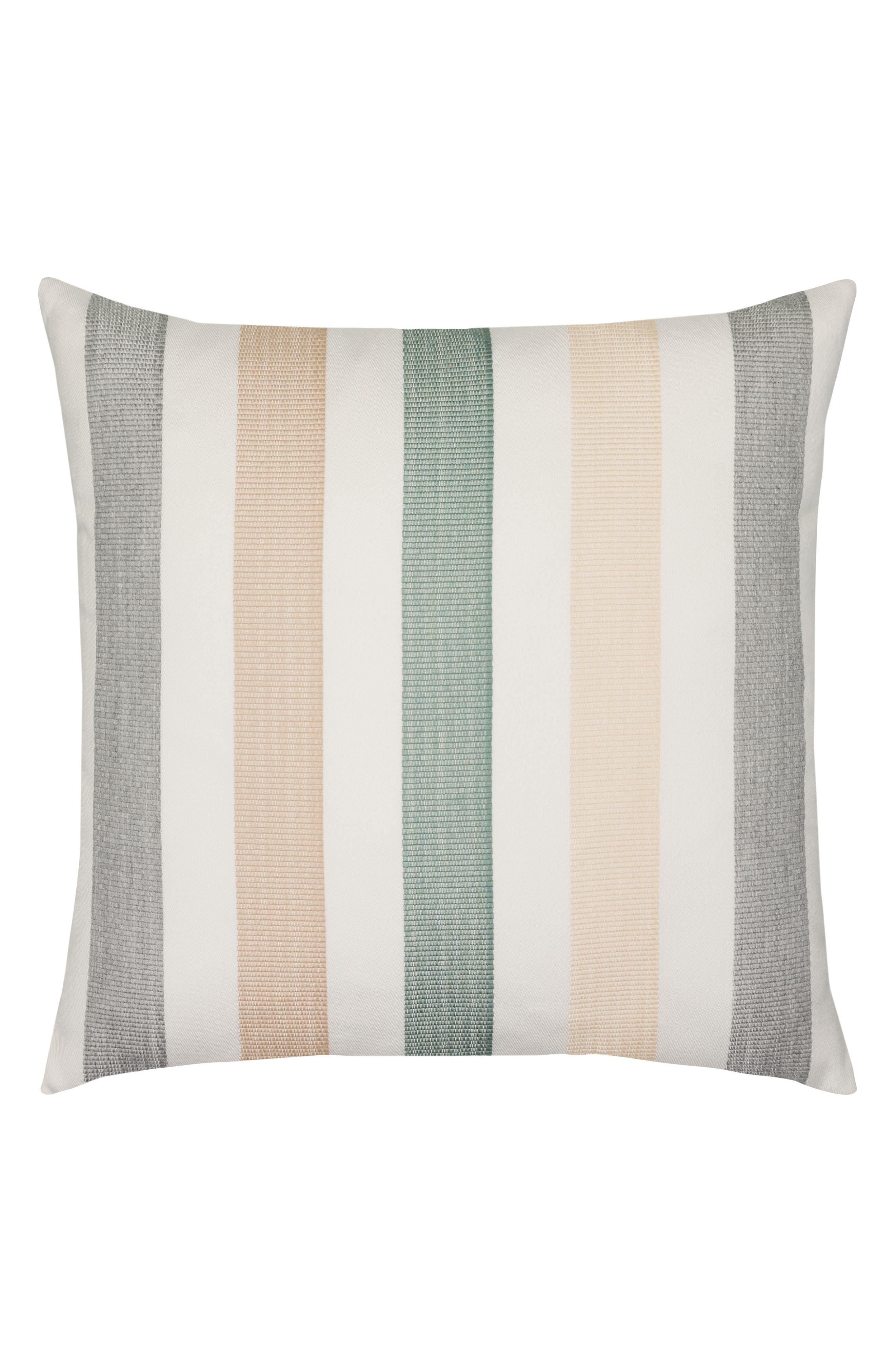 ELAINE SMITH Axiom Indoor/Outdoor Accent Pillow, Main, color, GRAY MULTI