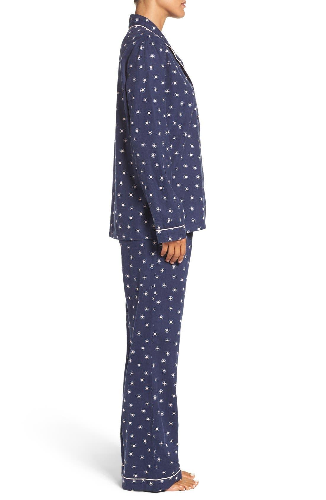Cotton Twill Pajamas,                             Alternate thumbnail 27, color,