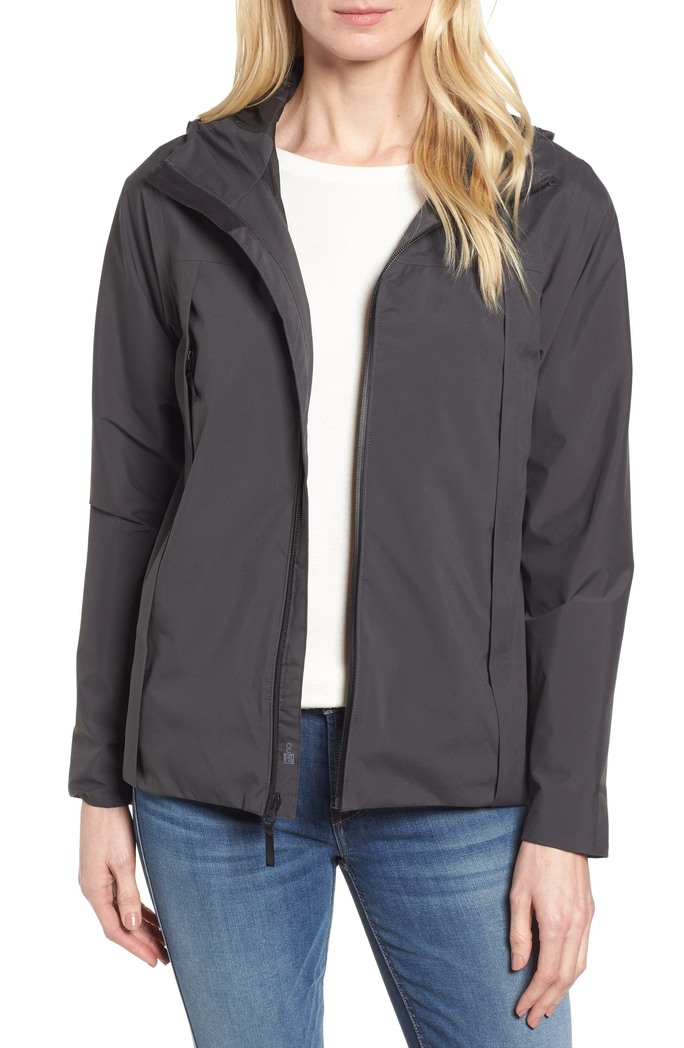 Yosemite Falls Hooded Jacket,                             Main thumbnail 1, color,                             001