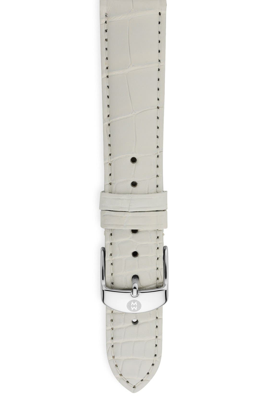 18mm Alligator Watch Strap,                             Main thumbnail 51, color,