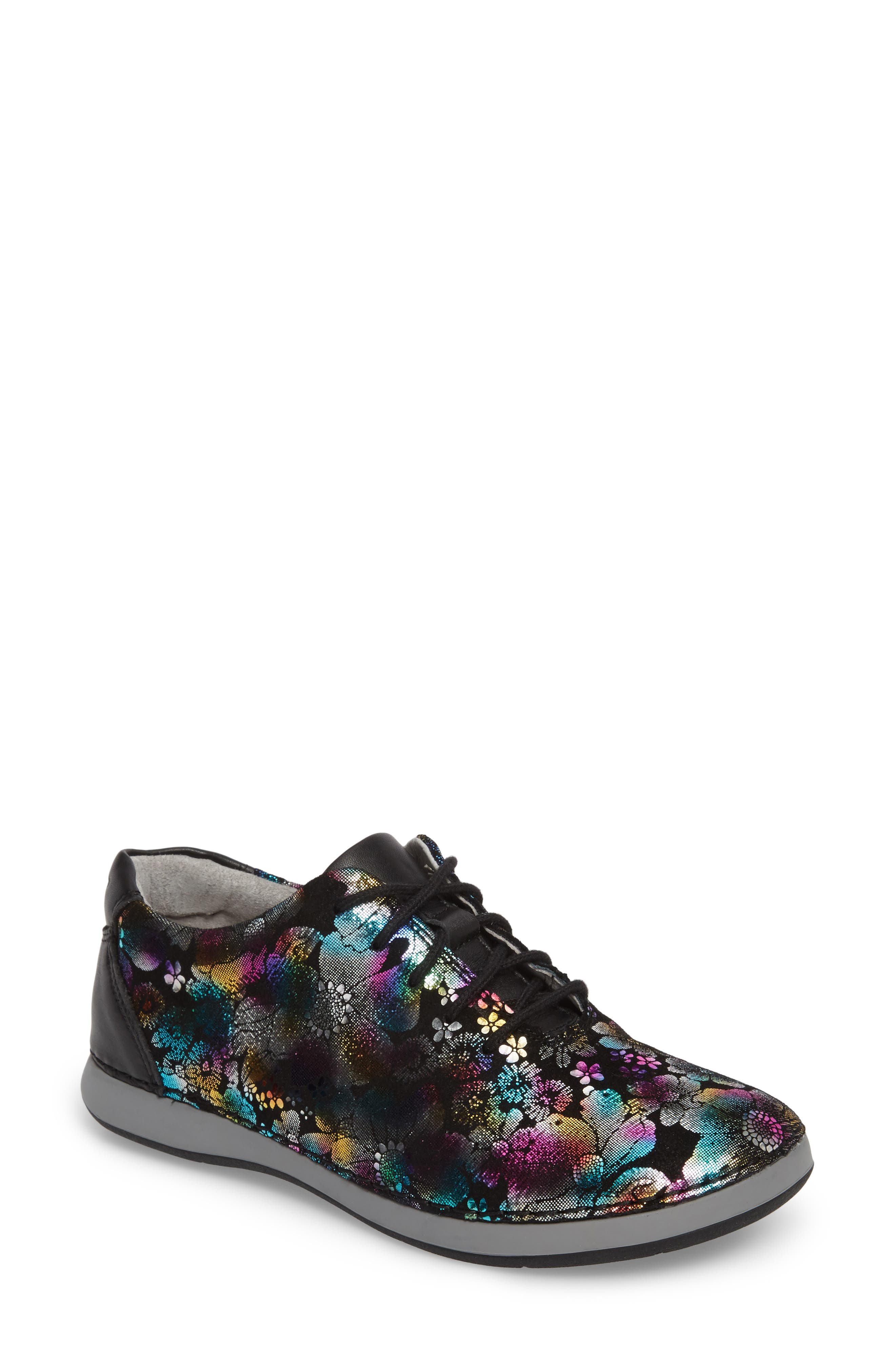 Essence Lace-Up Leather Oxford,                             Main thumbnail 9, color,