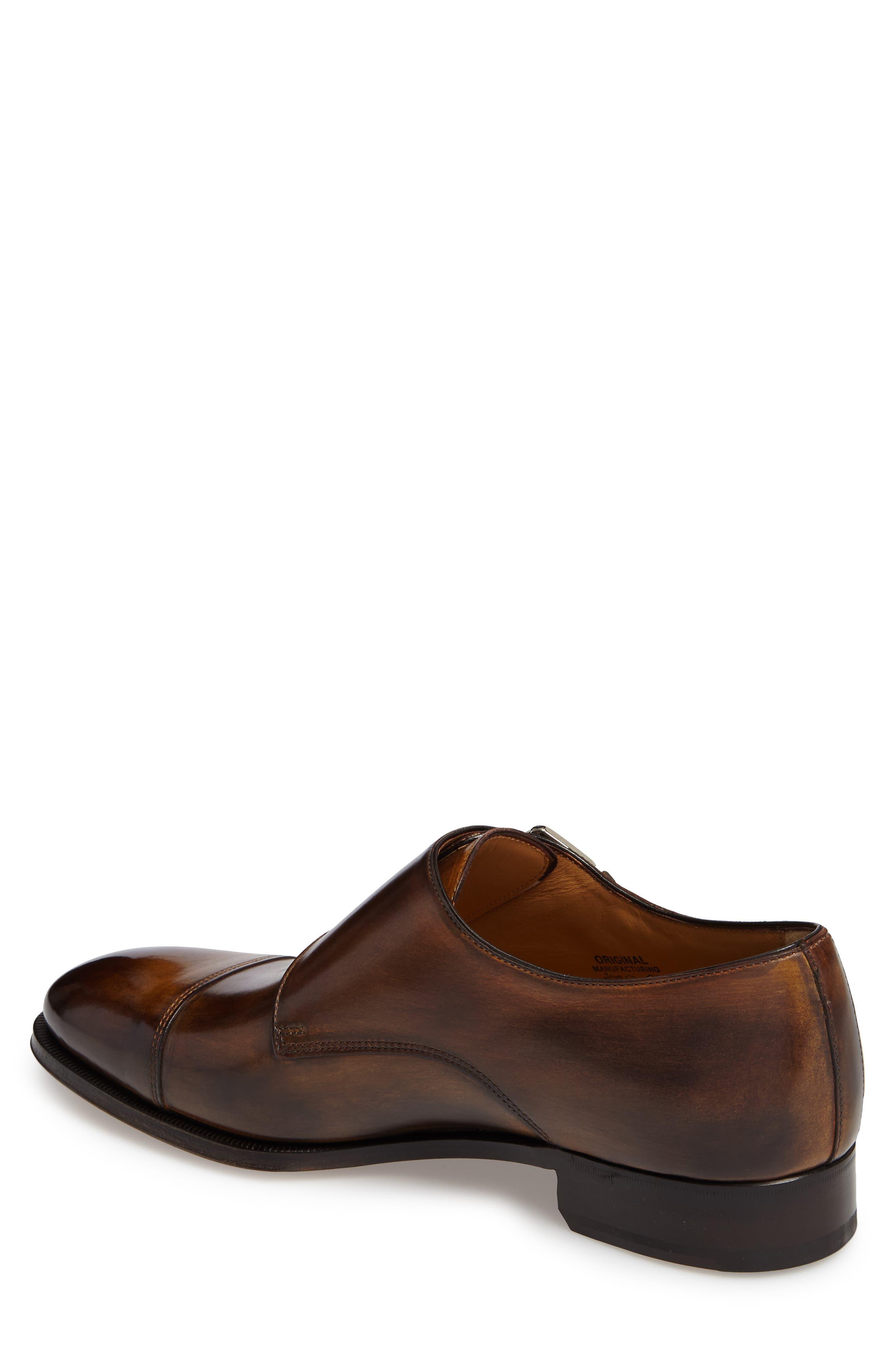 Di Gallo Bianco Blake Double Monk Strap Shoe,                             Alternate thumbnail 2, color,                             210