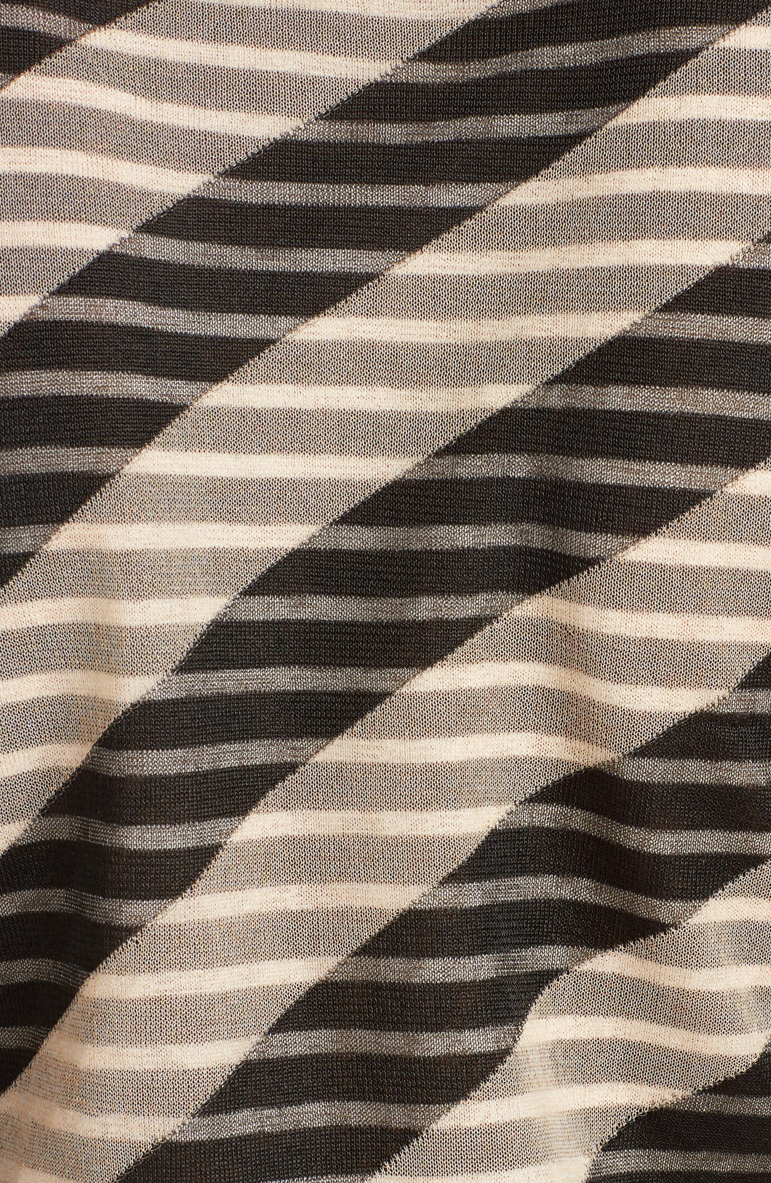 Mixed Stripe Top,                             Alternate thumbnail 5, color,                             005