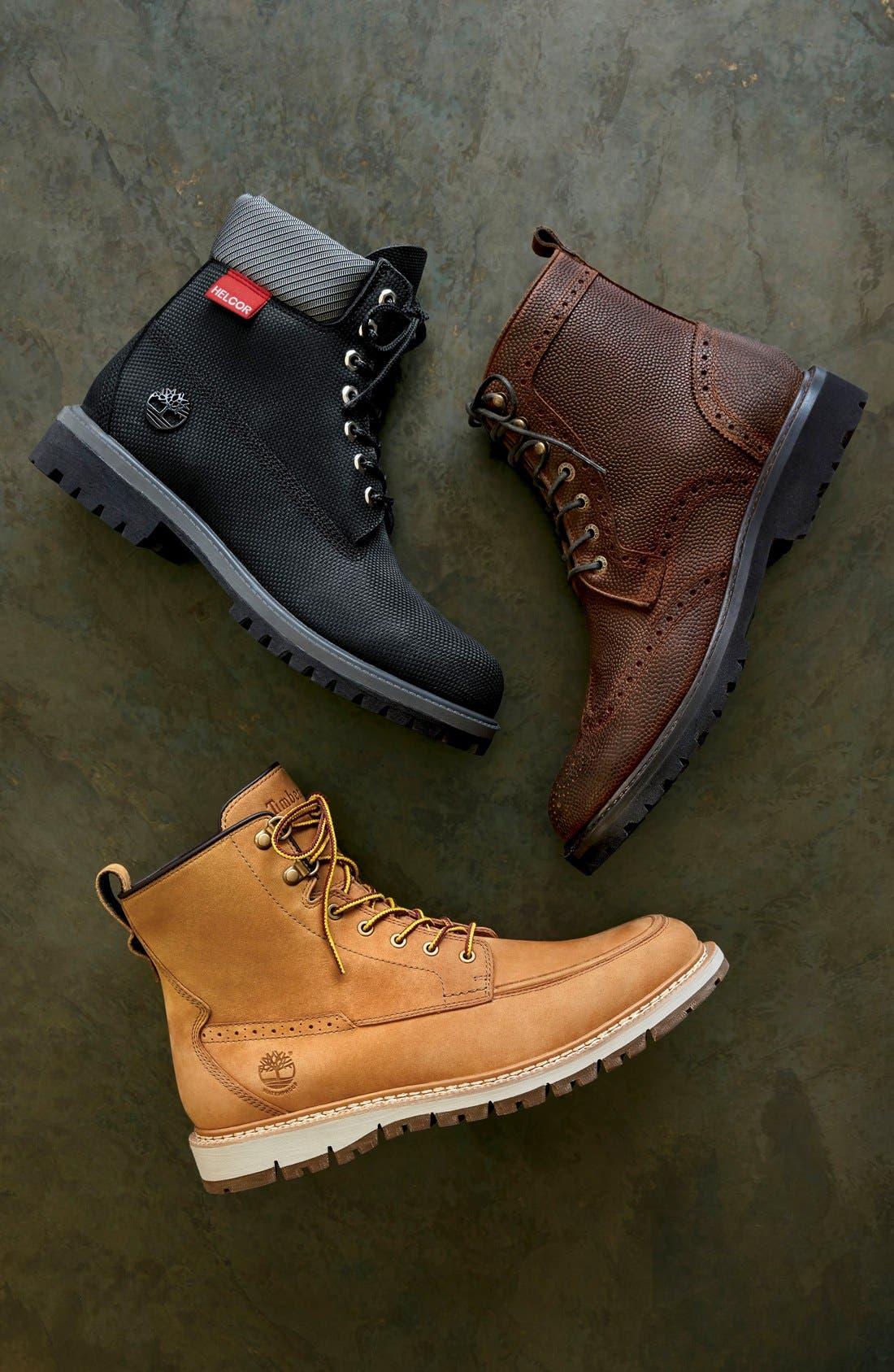 'Britton Hill' Moc Toe Boot,                         Main,                         color, 003