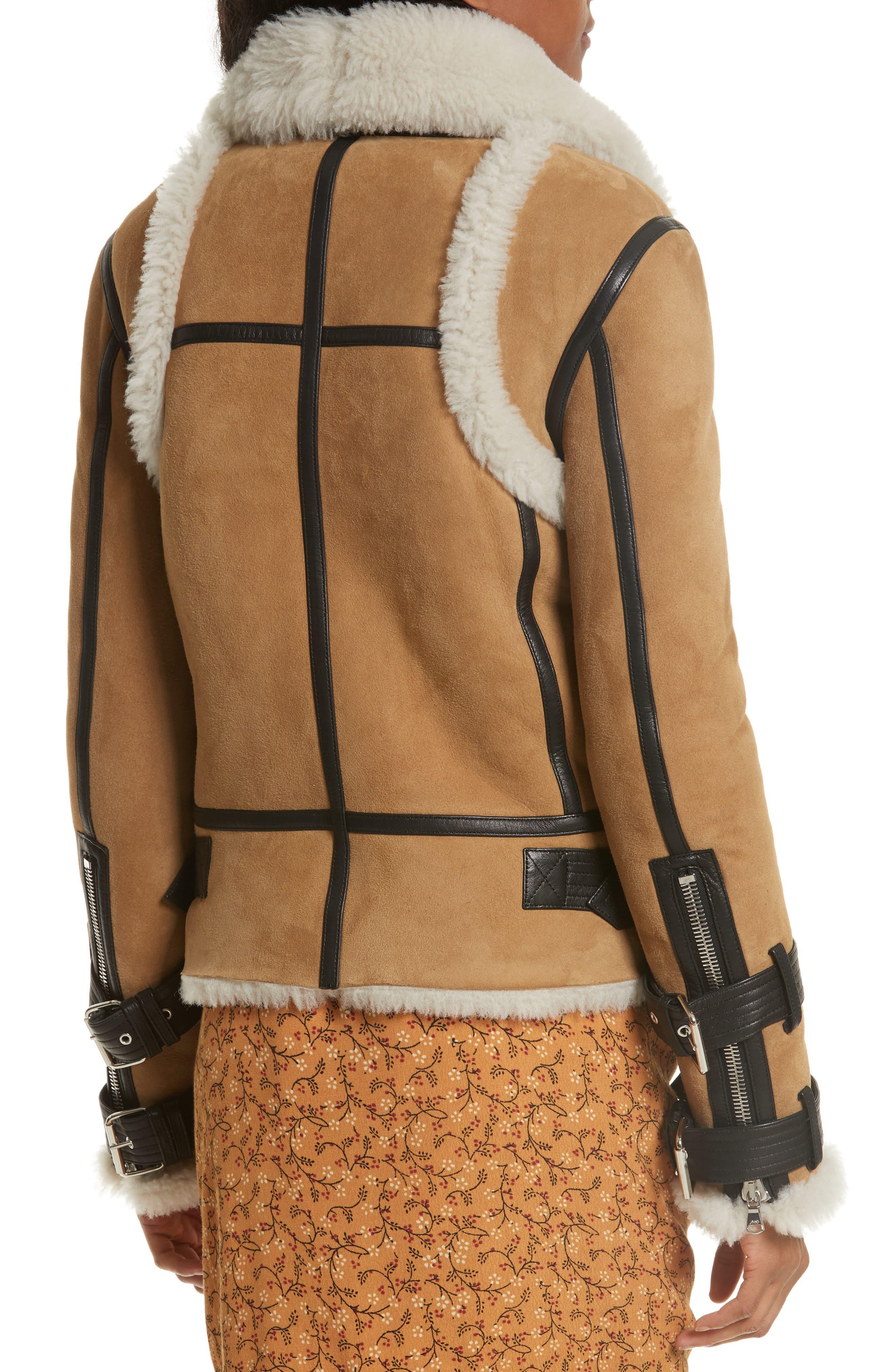 Windsor Genuine Shearling Pilot Jacket,                             Alternate thumbnail 2, color,                             278