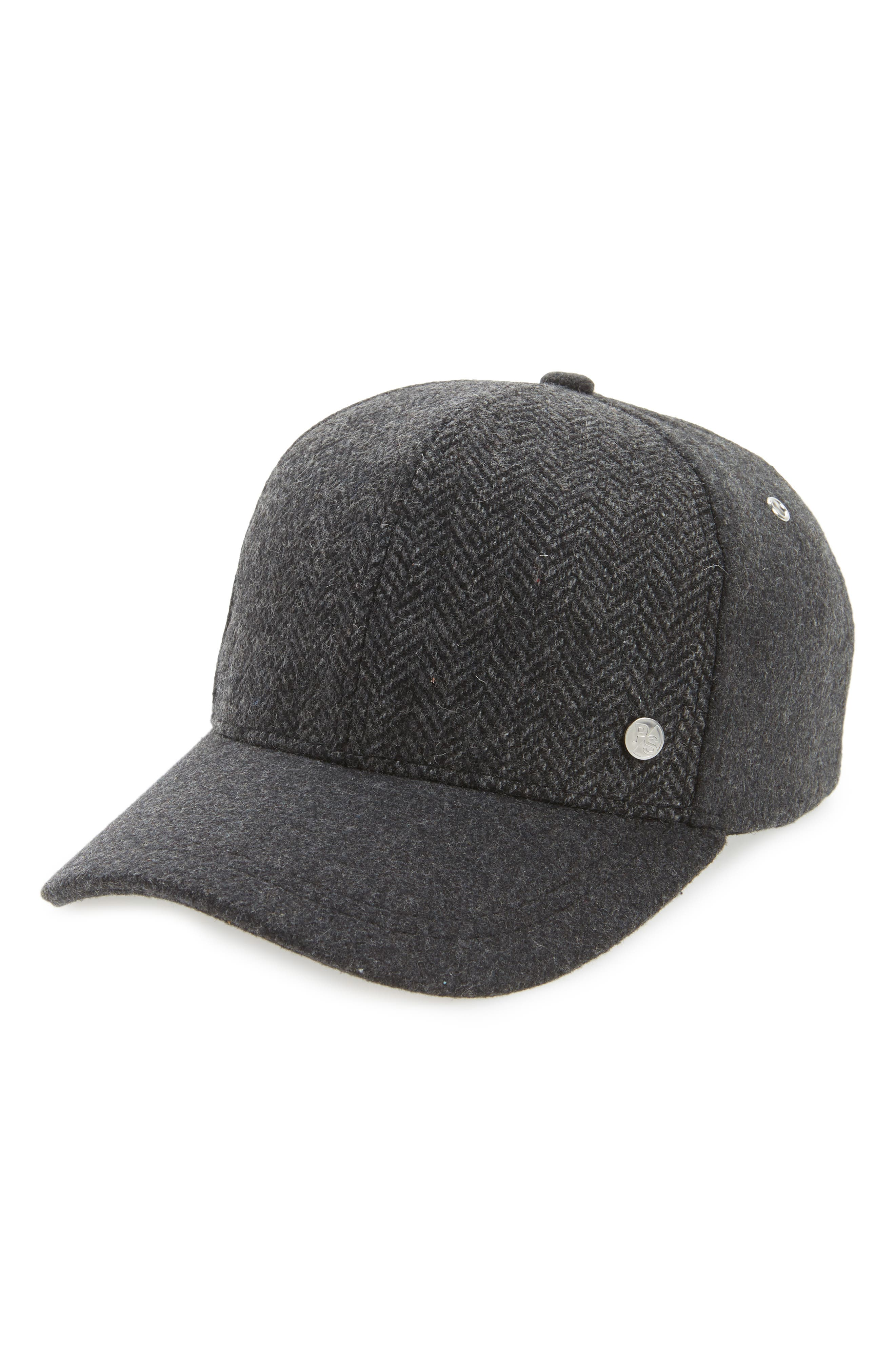 Herringbone Baseball Cap,                             Main thumbnail 1, color,                             021