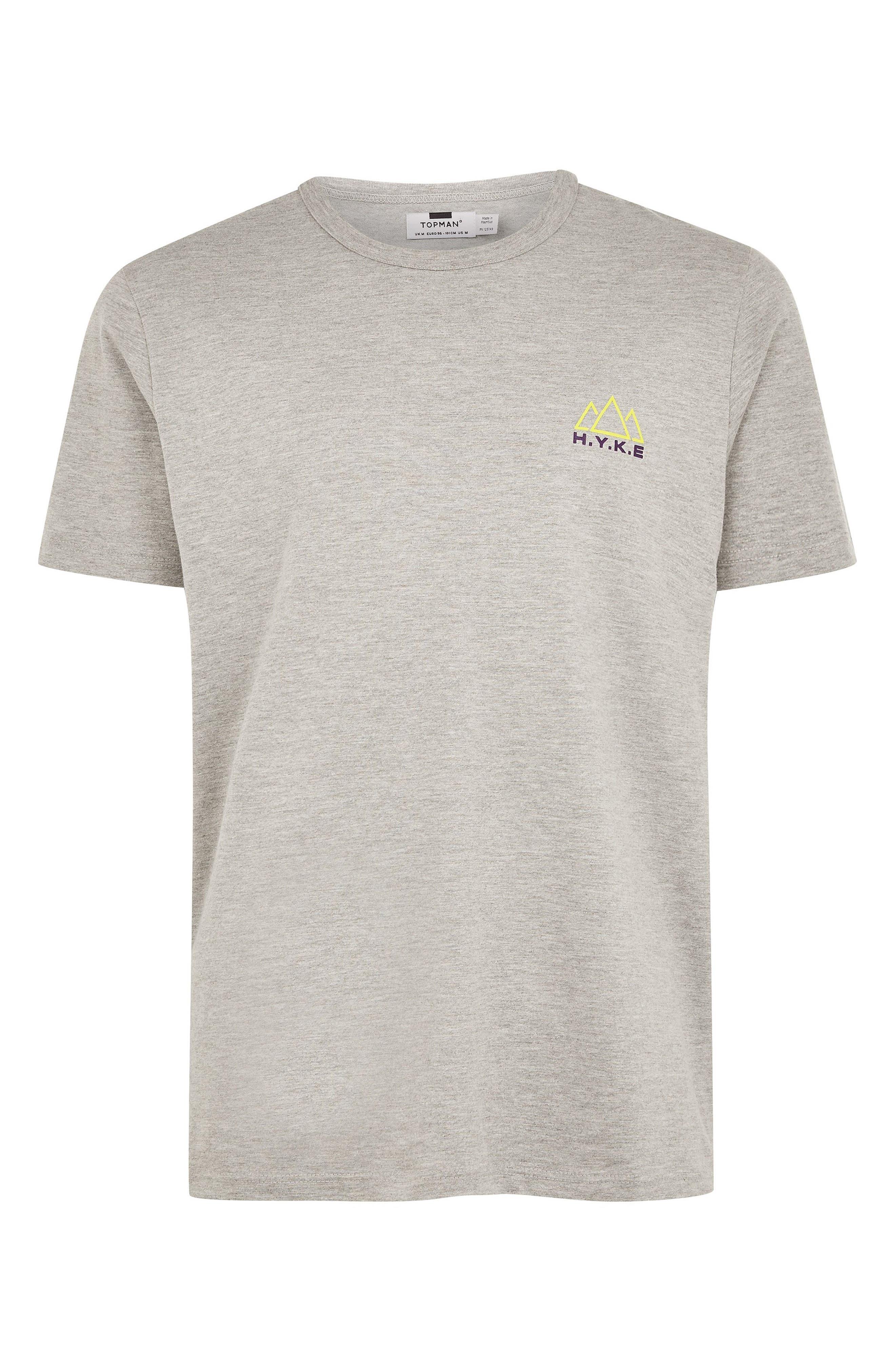 H.Y.K.E. Graphic T-Shirt,                             Alternate thumbnail 4, color,                             GREY