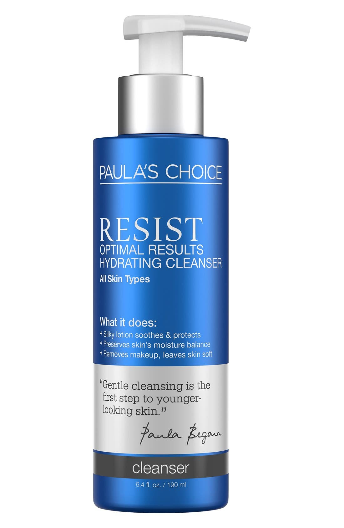 Resist Optimal Results Hydrating Cleanser,                         Main,                         color, NO COLOR