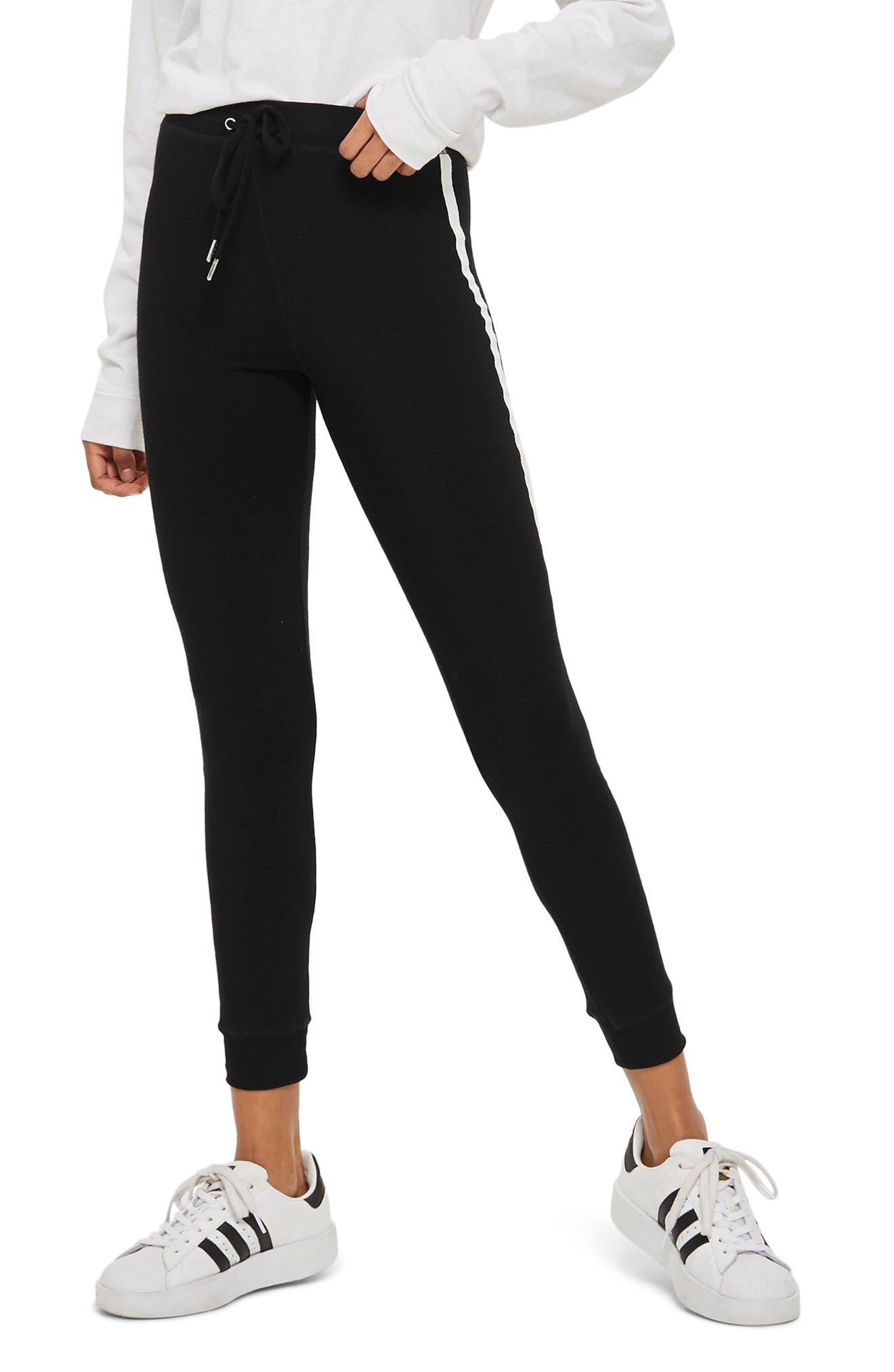 Side Stripe Joggers,                         Main,                         color, 001