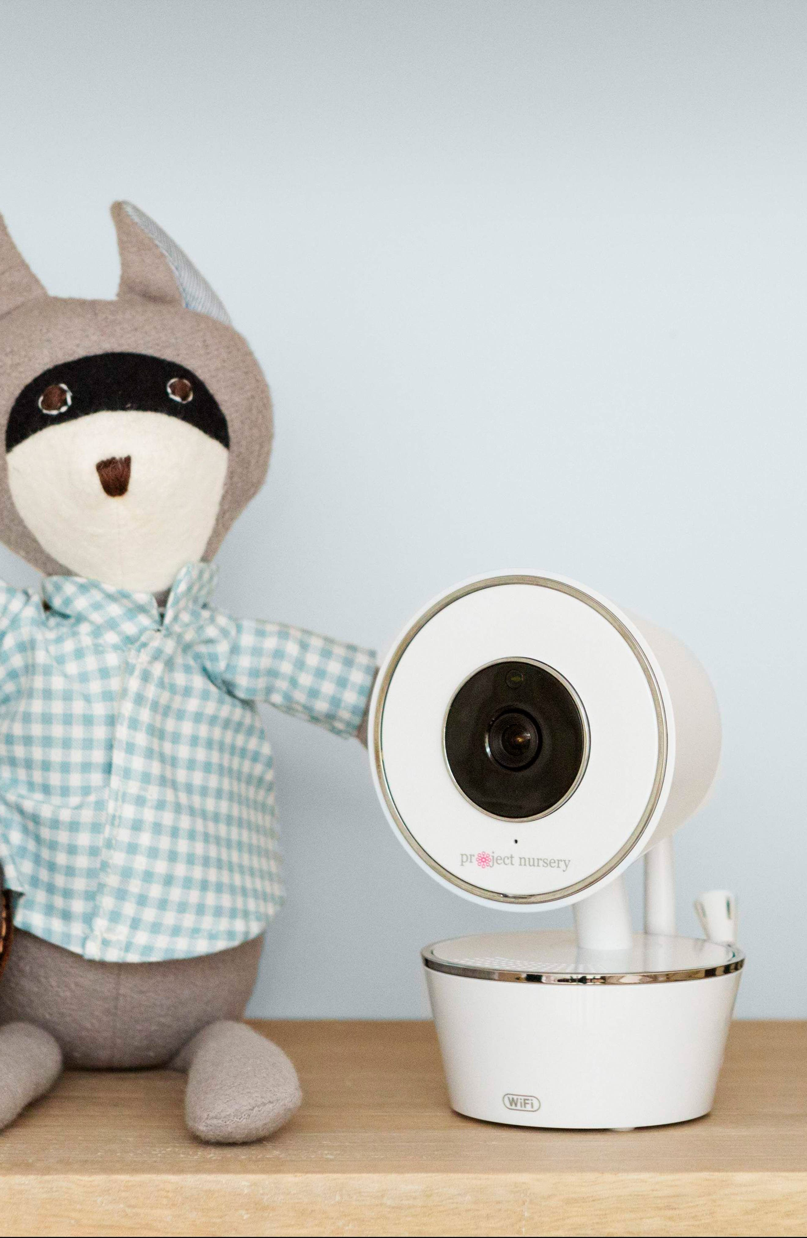 Smart Nursery Wi-Fi Baby Monitor,                             Alternate thumbnail 7, color,                             WHITE