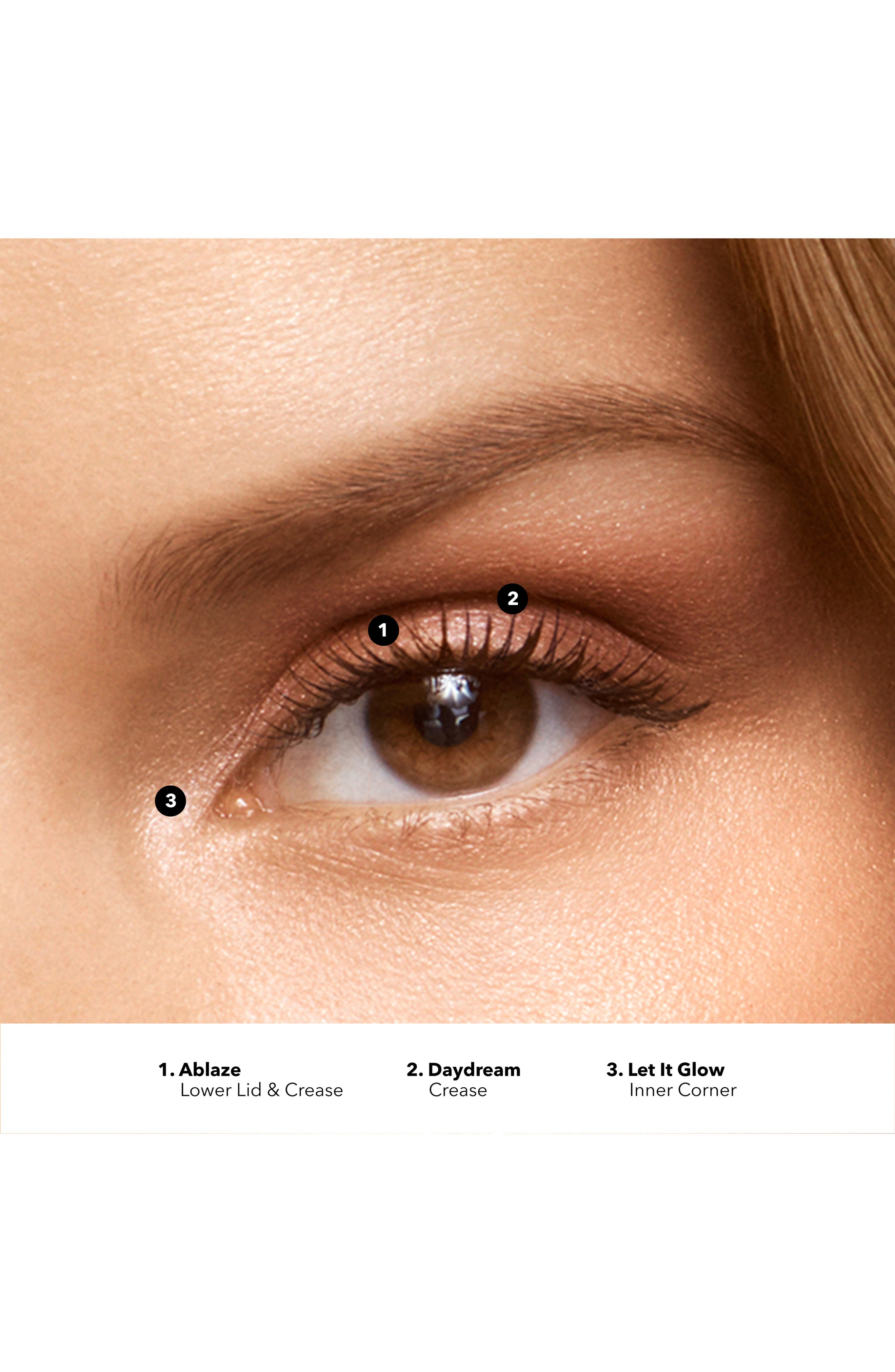 Crystal Eyeshadow Palette,                             Alternate thumbnail 3, color,                             STARLIGHT